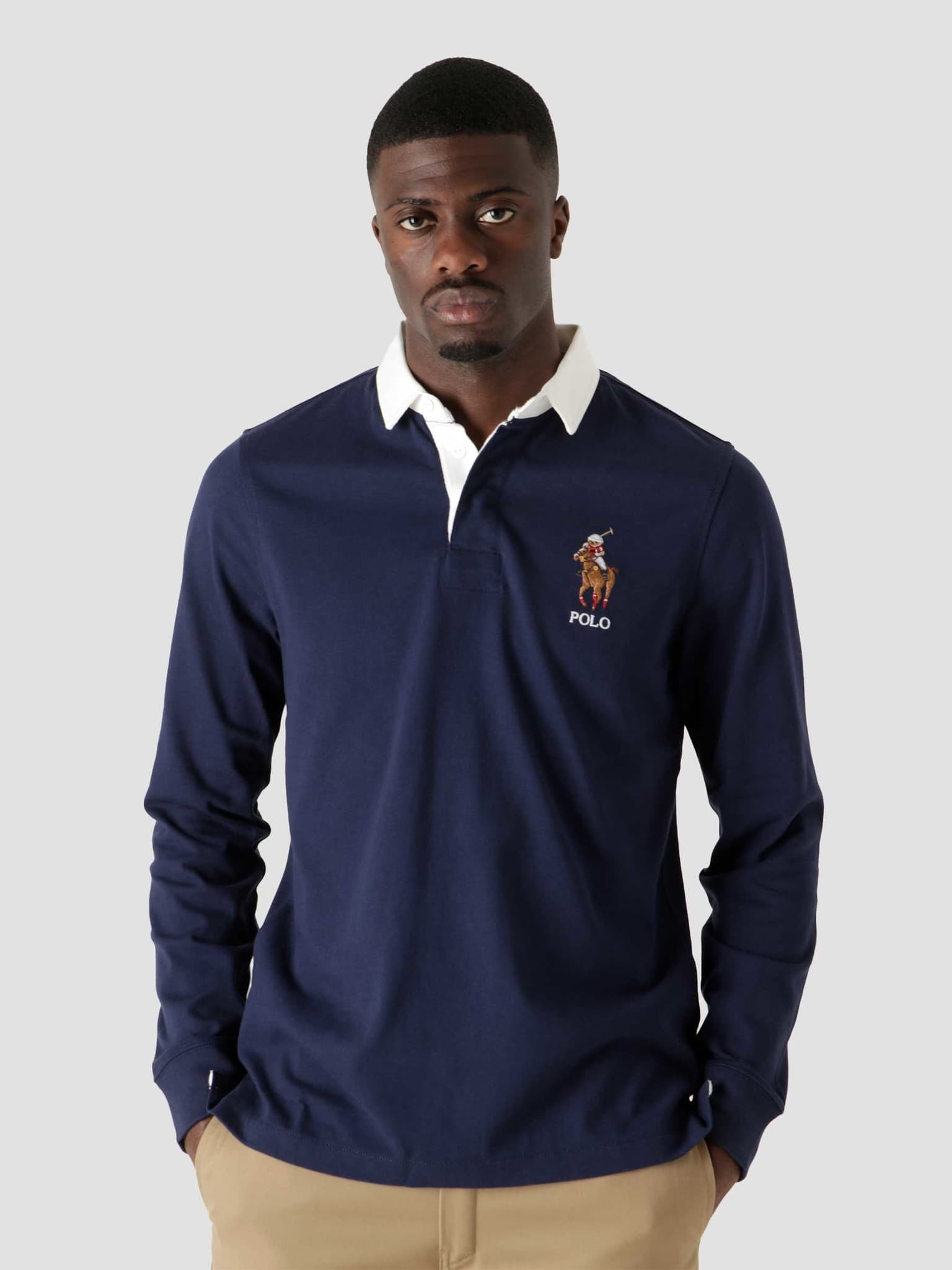 10-1 Jersey Long Sleeve Rugby French Navy 710853319001