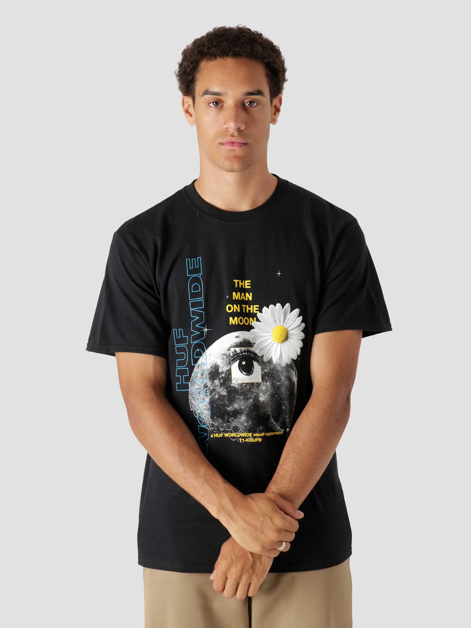 The Man On The Moon S/S Tee Black TS01424