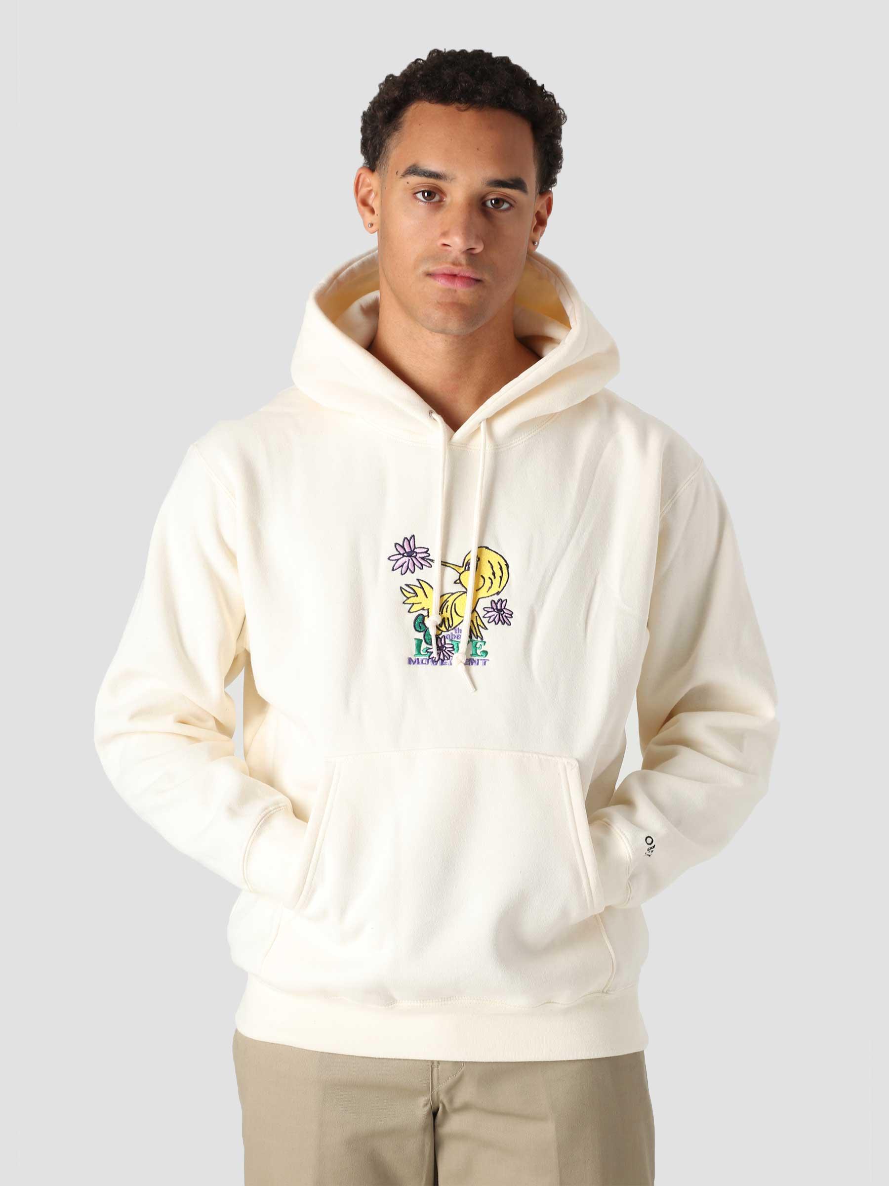 Love Movement Hood Hood Fleece (Embellished) Unbleached 112470136