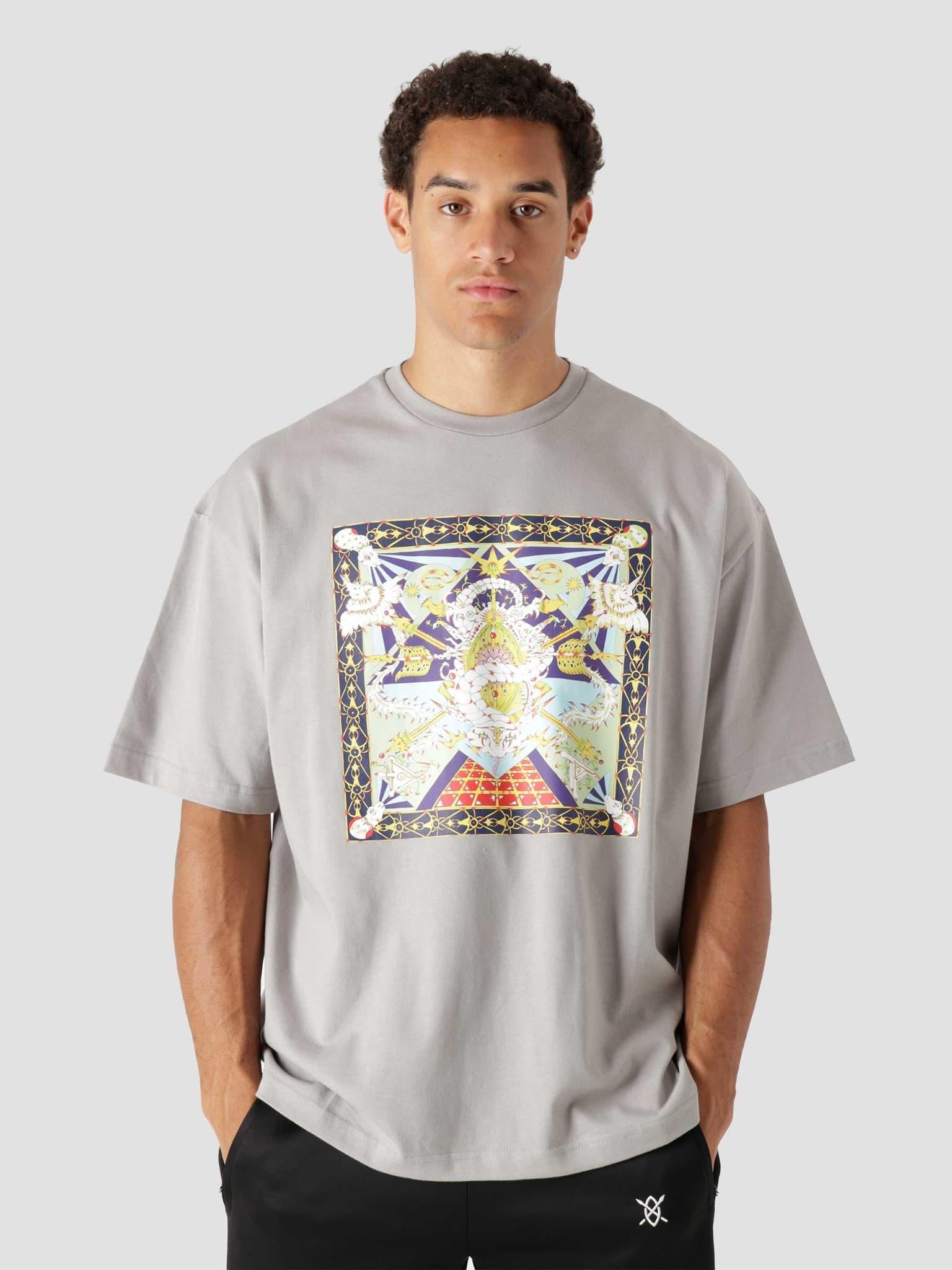 Leval Ss T-Shirt Grey 2121020