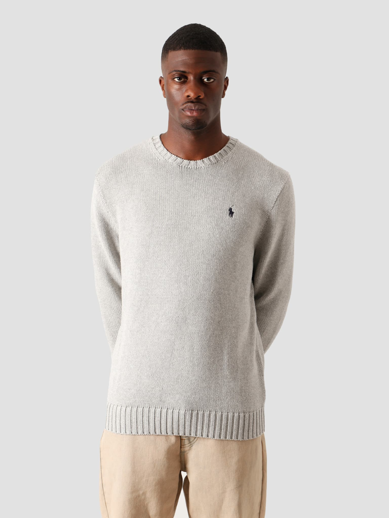 Cotton Sweater  Andover Grey Heather 710727573002