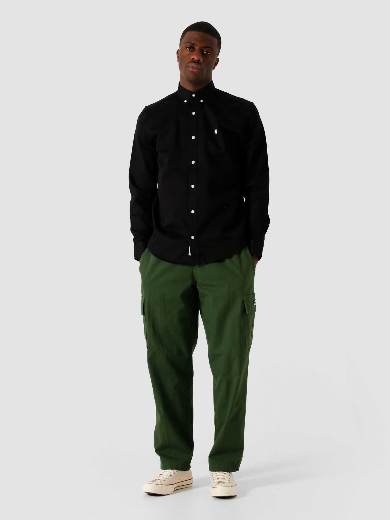 Madison Shirt Black Wax I023339-8990