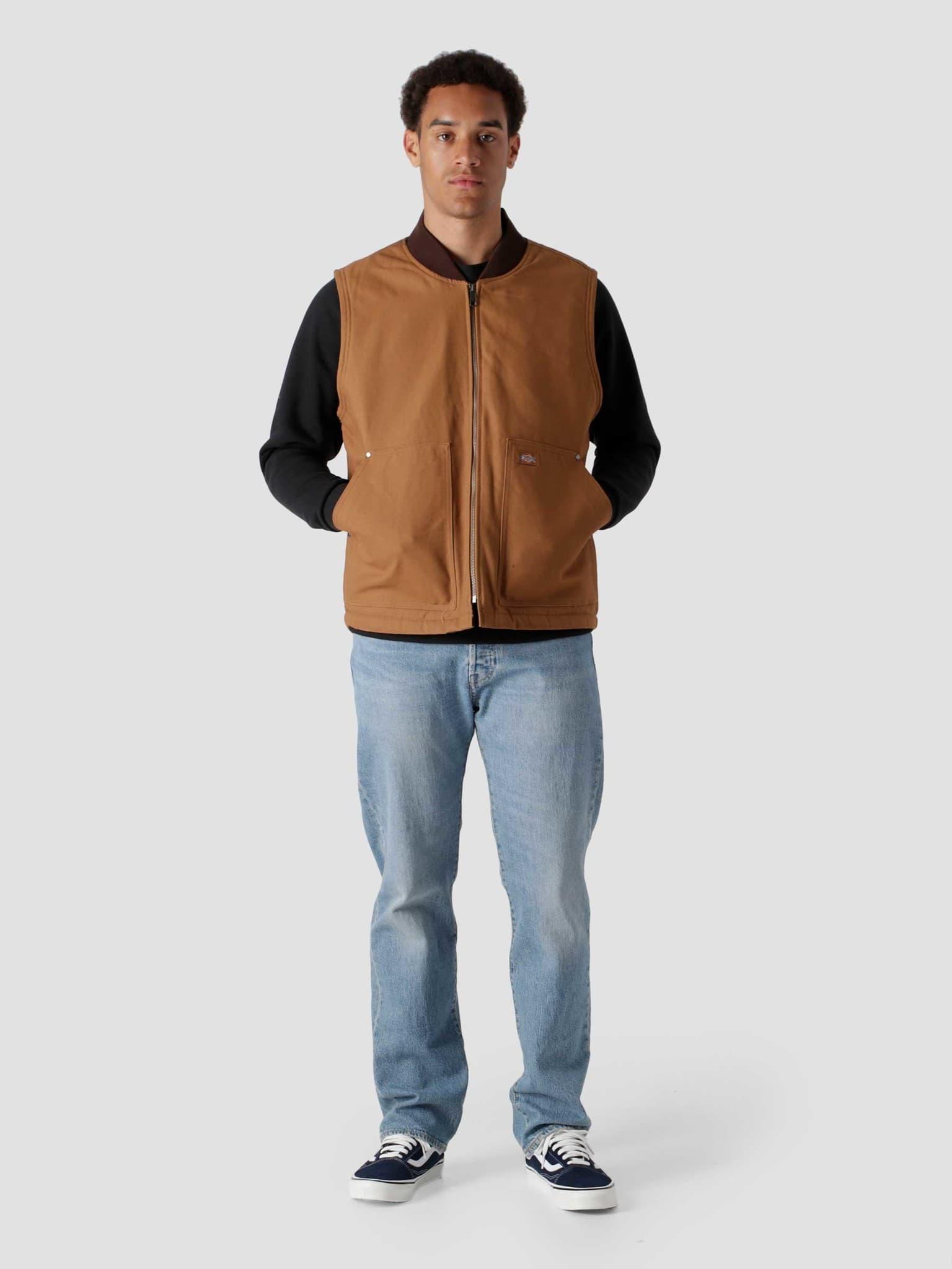 Dickies Duck Canvas Vest Brown Duck DK0A4XFXBD0