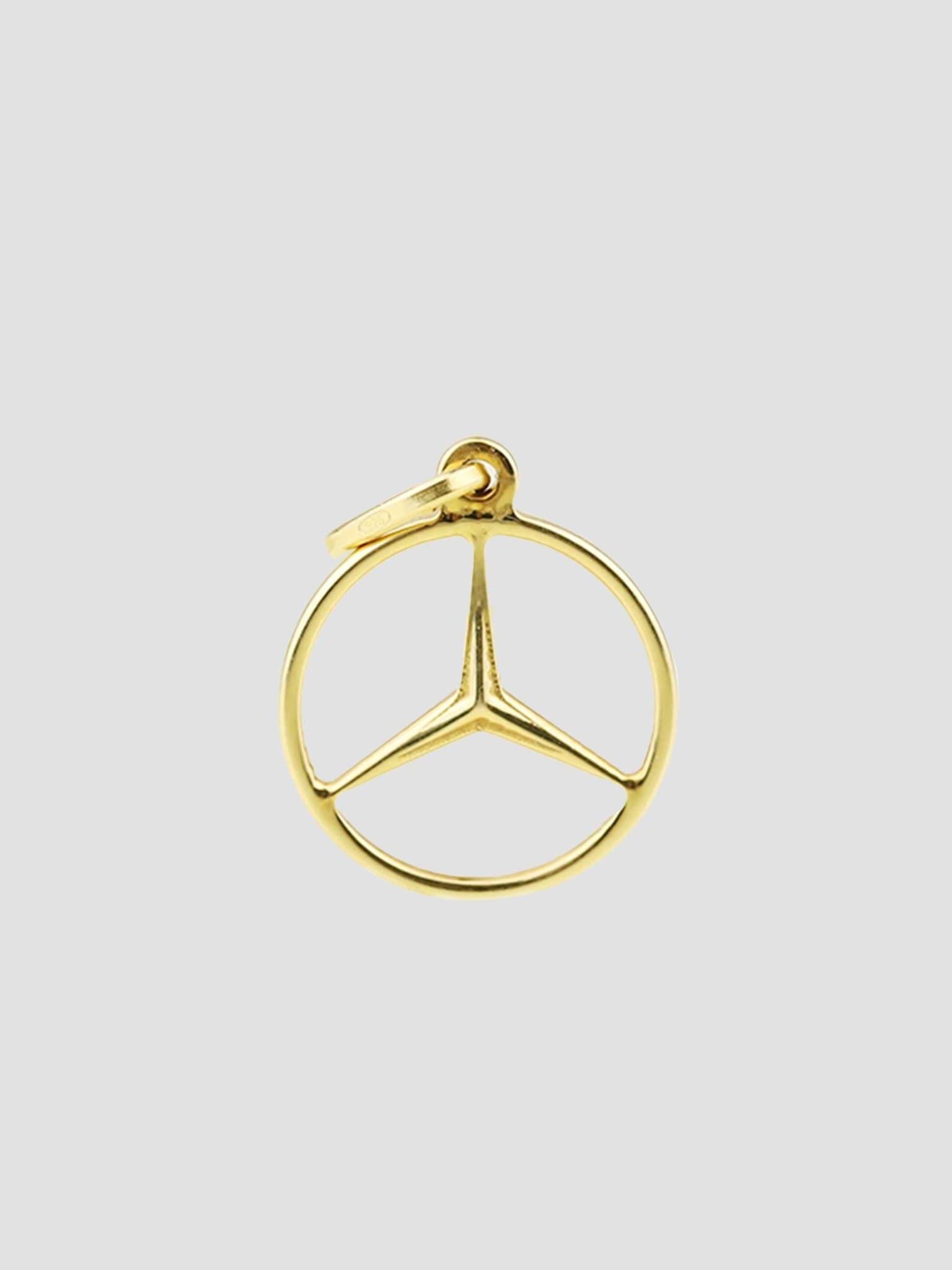 Benz Pendant Gold