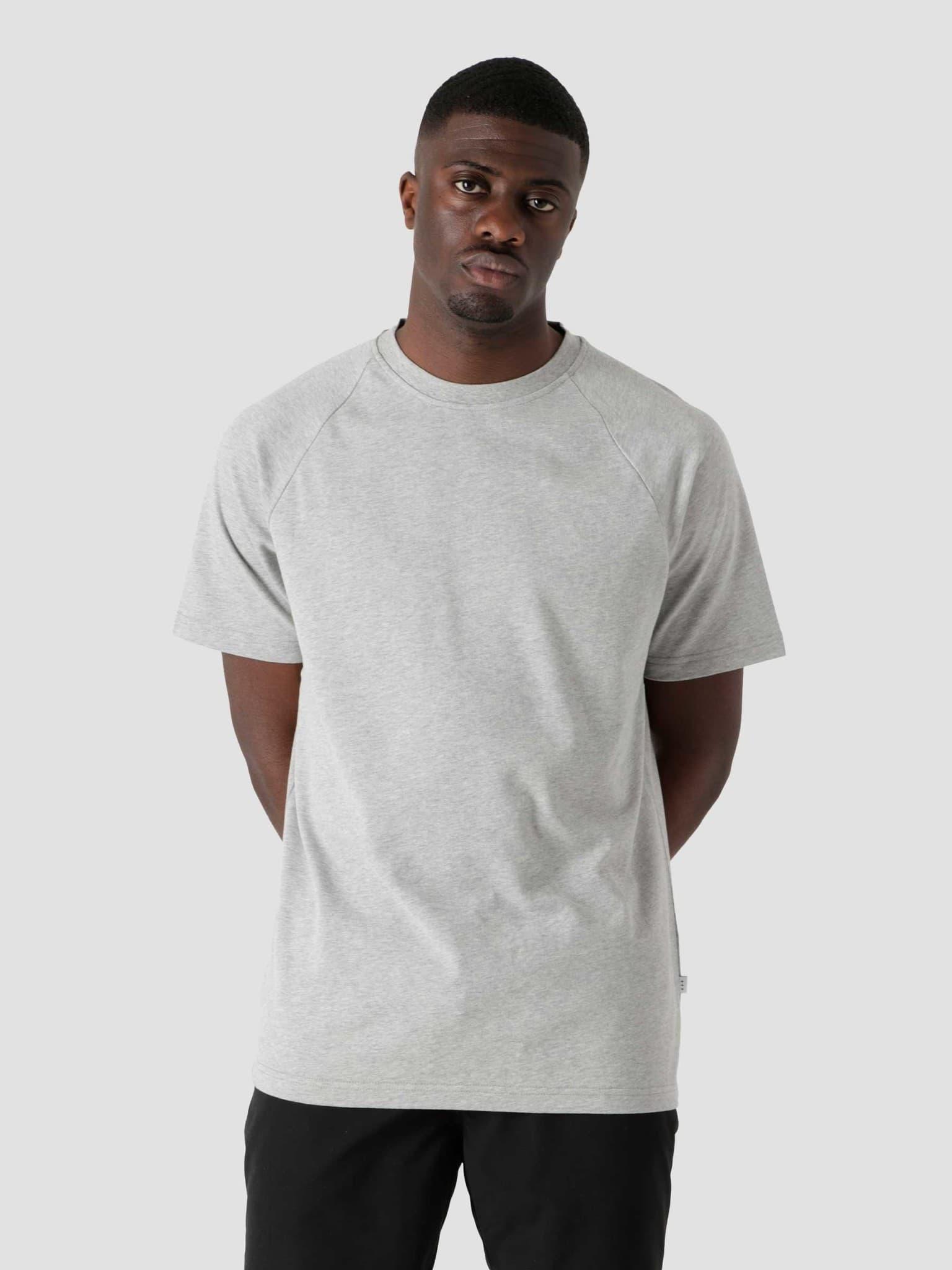 QB302 Heavy Raglan T-shirt Grey Heather
