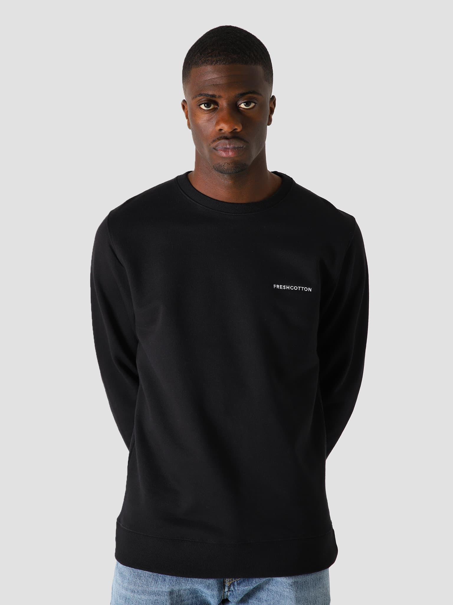 Chest Logo Sweater Black