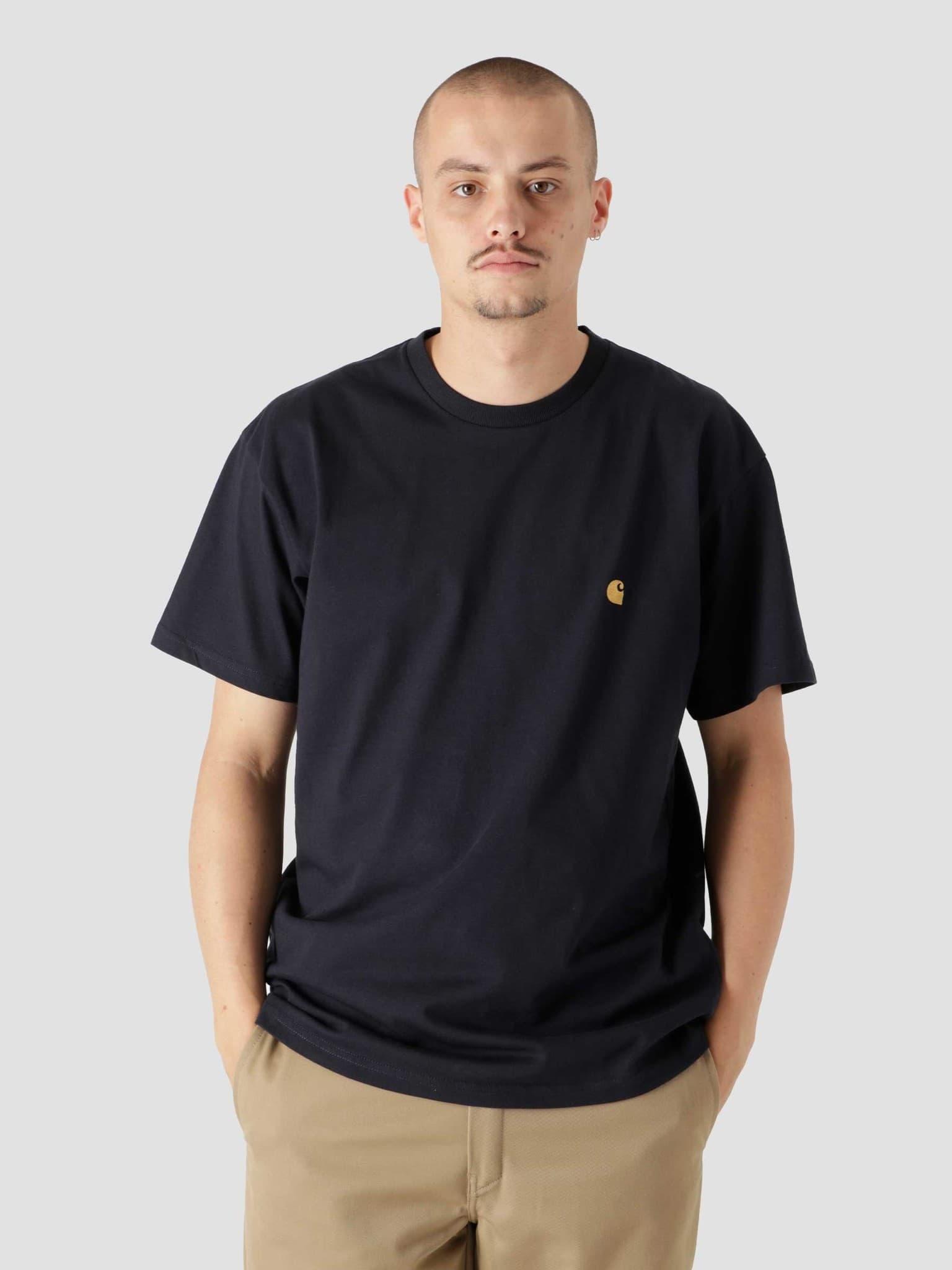 Chase T-Shirt Dark Navy Gold I026391