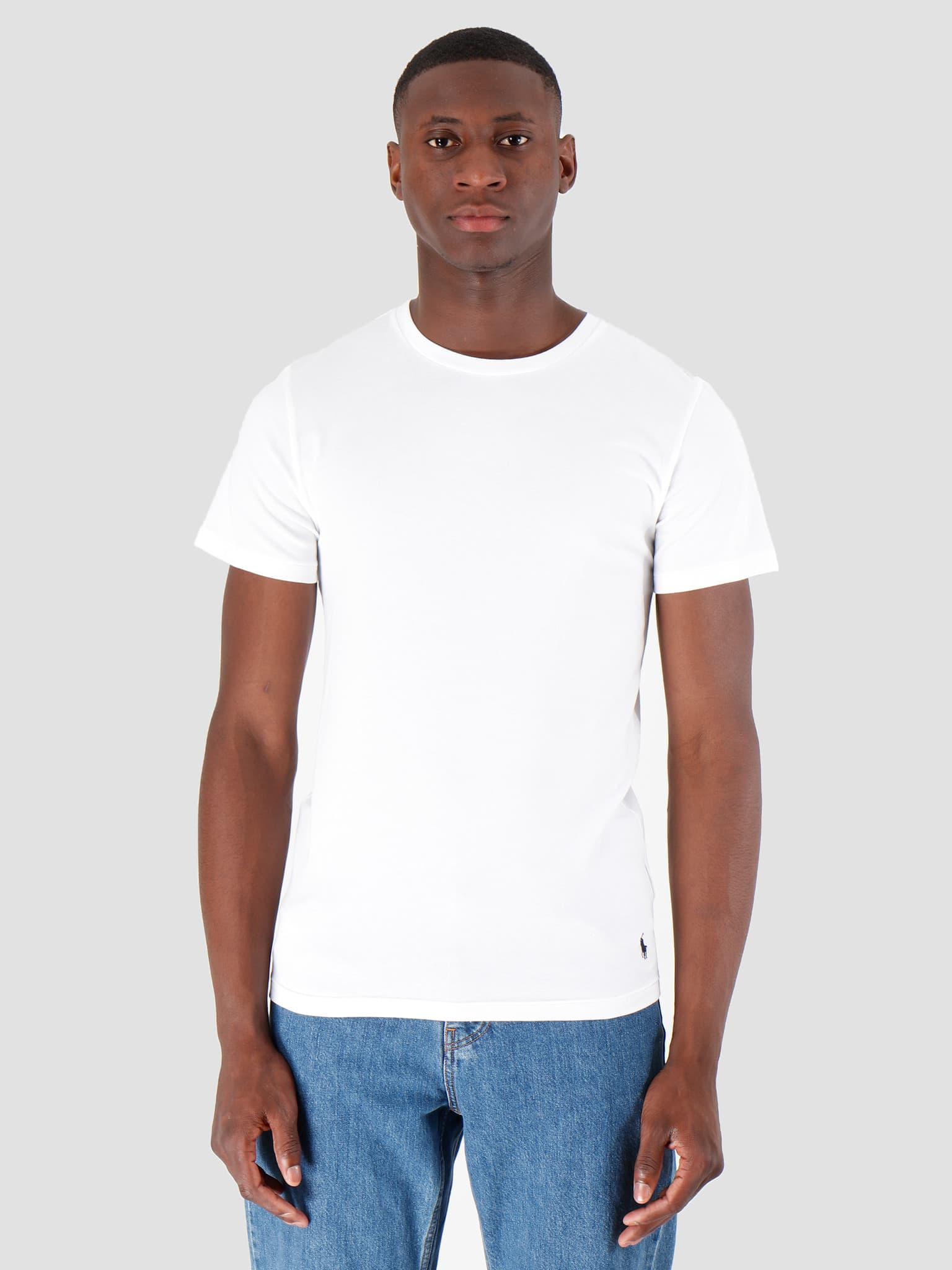 Classic 2 Pack Crew Undershirt 2Pk White White 714621944002