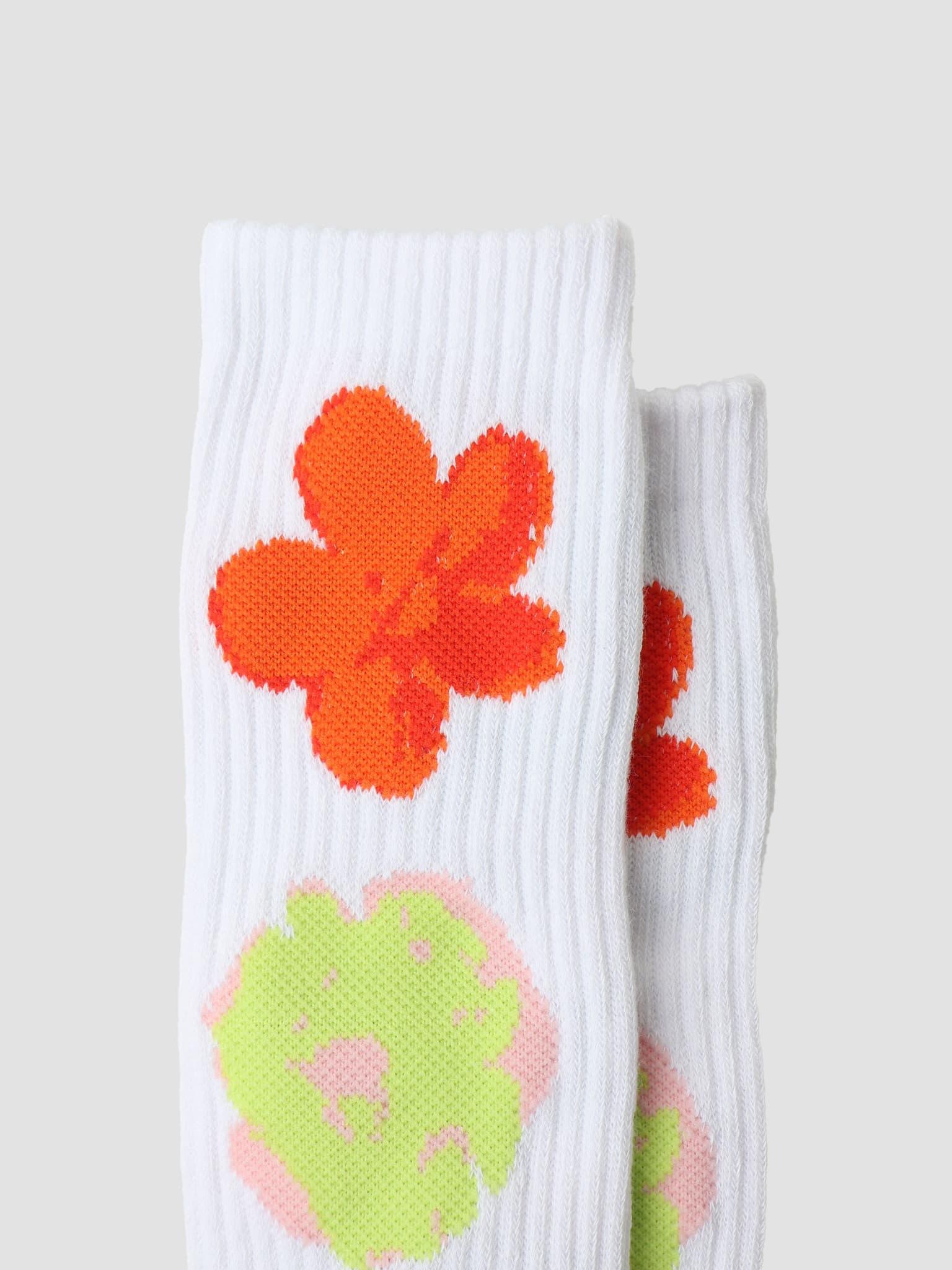 Adored Sock White SK00567