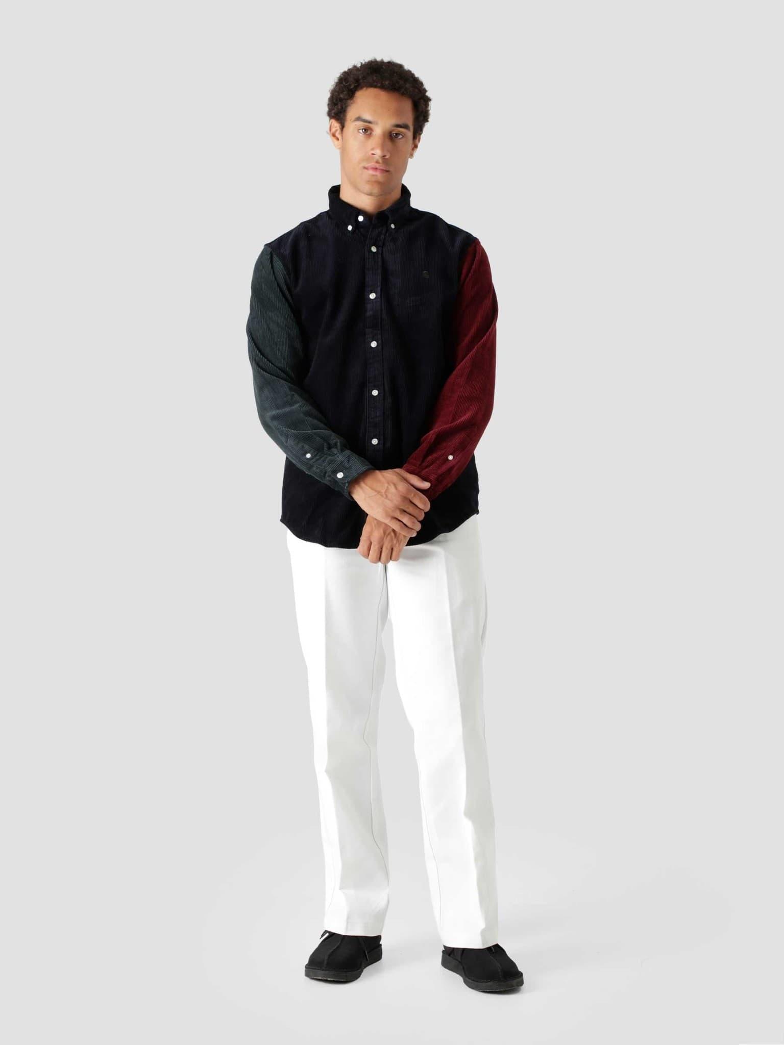 Longsleeve Triple Madison Cord Shirt Astro Frasier Jam I029480