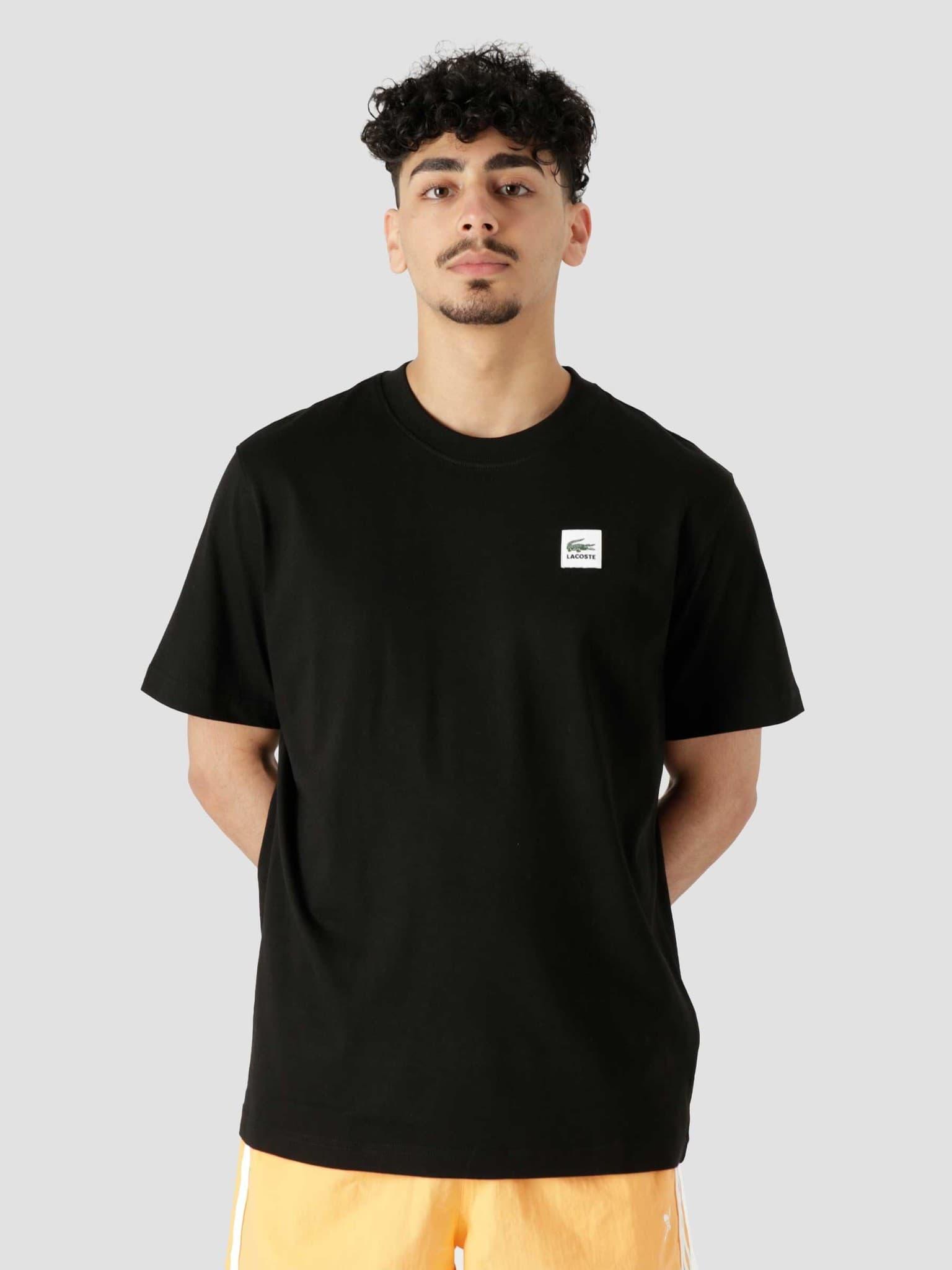 1HT1 Men's T-Shirt Black TH9163-11