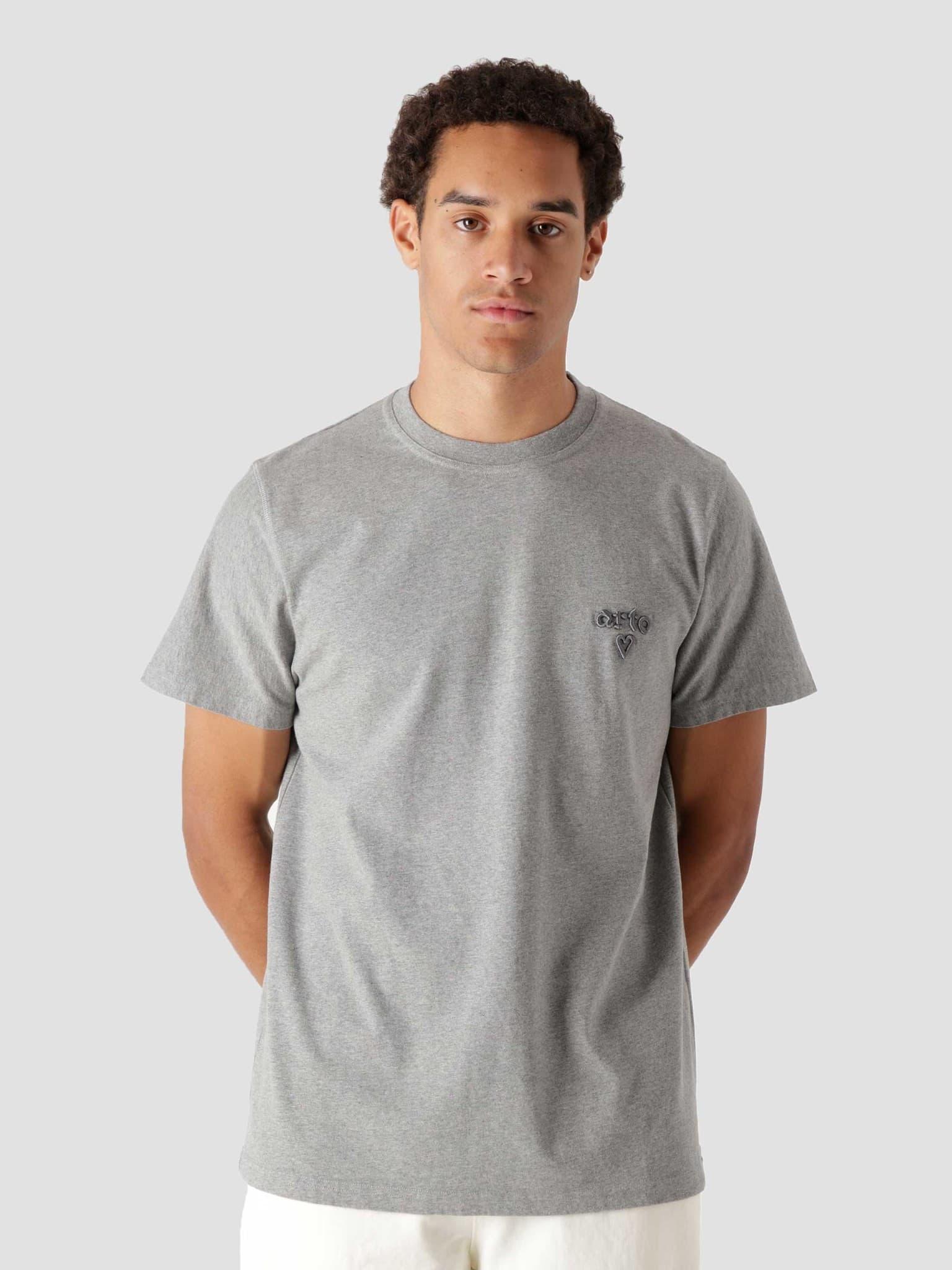 Tissot Heart T-Shirt Grey AW21-067T
