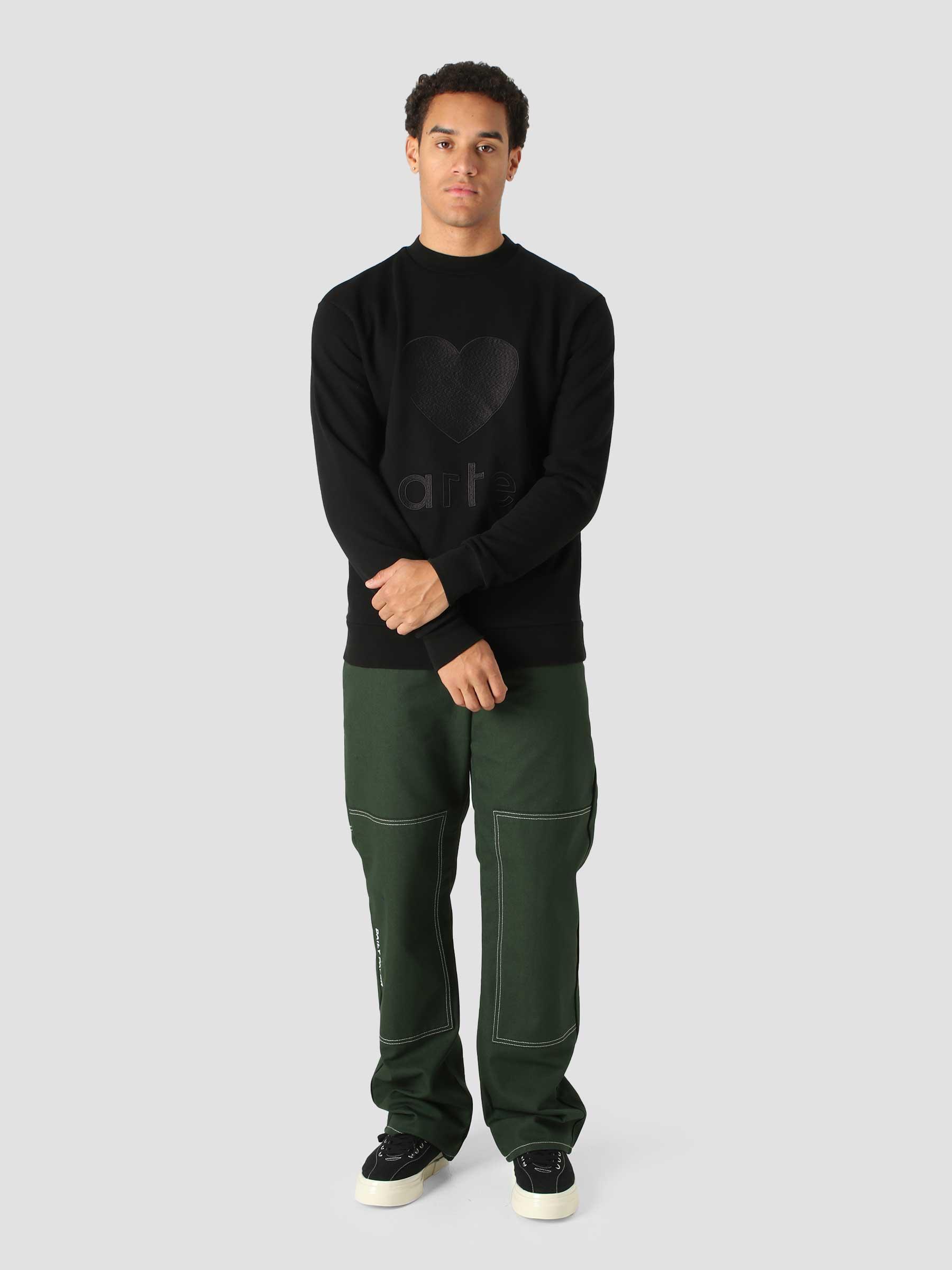 Castel Sweater Black AW21-090C