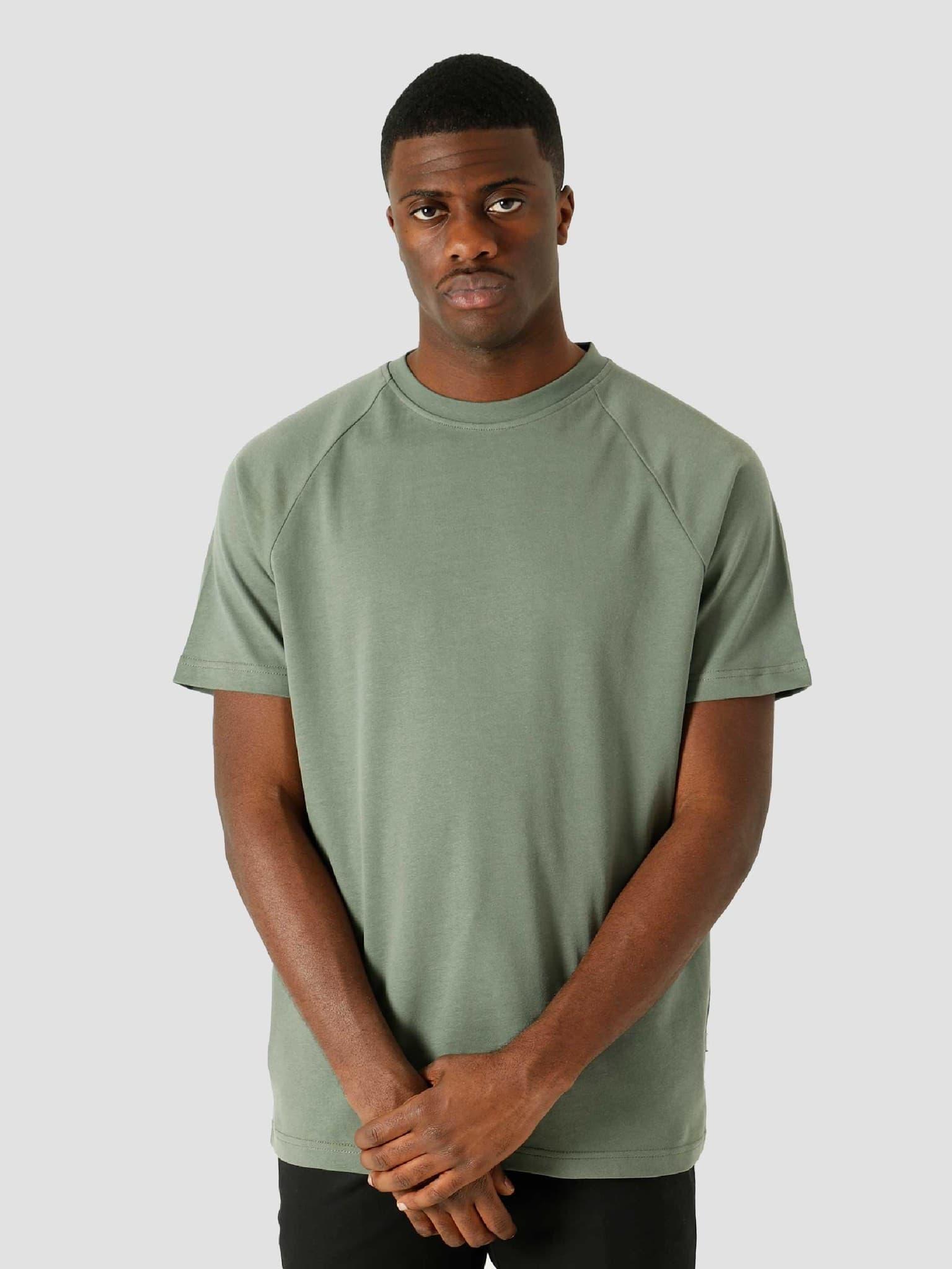 QB302 Heavy Raglan T-shirt Olive