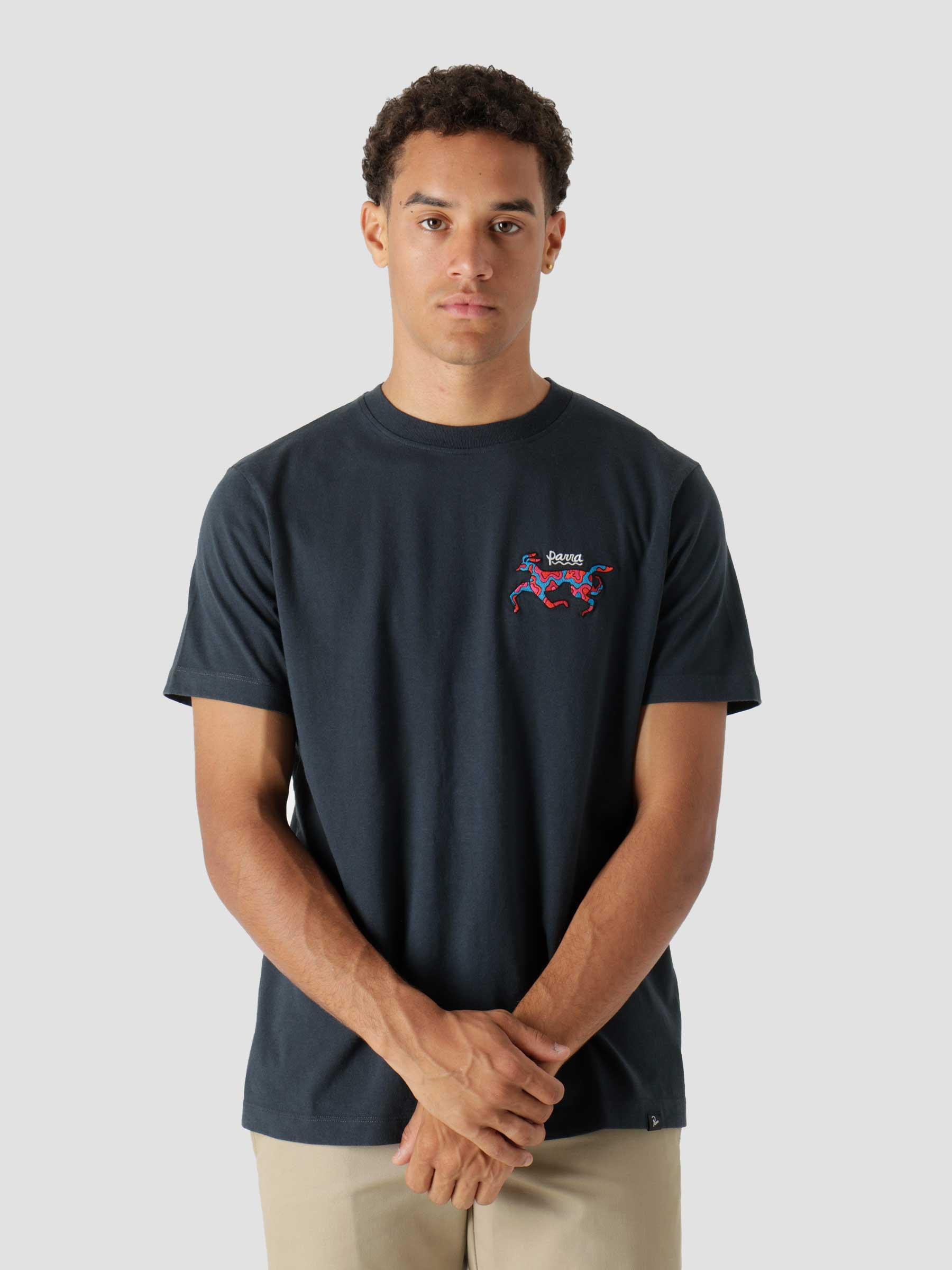 Dog Race T-Shirt Navy Blue 46205