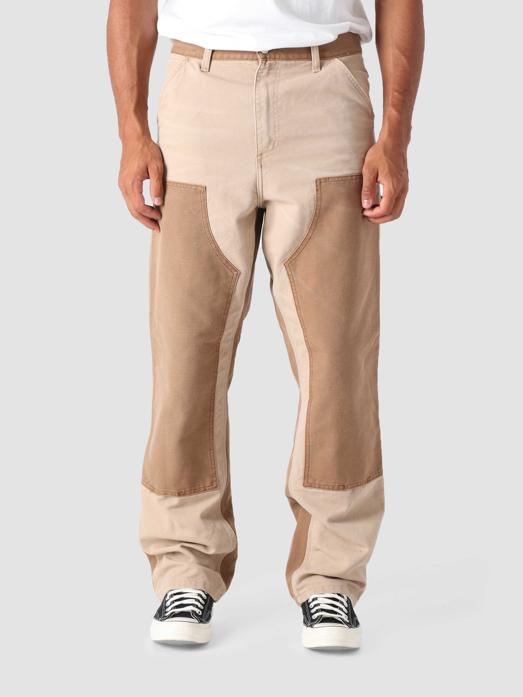 Double Knee Pant Dusty H Brown Hamilton Brown Aged Canvas I029780-0ID3K