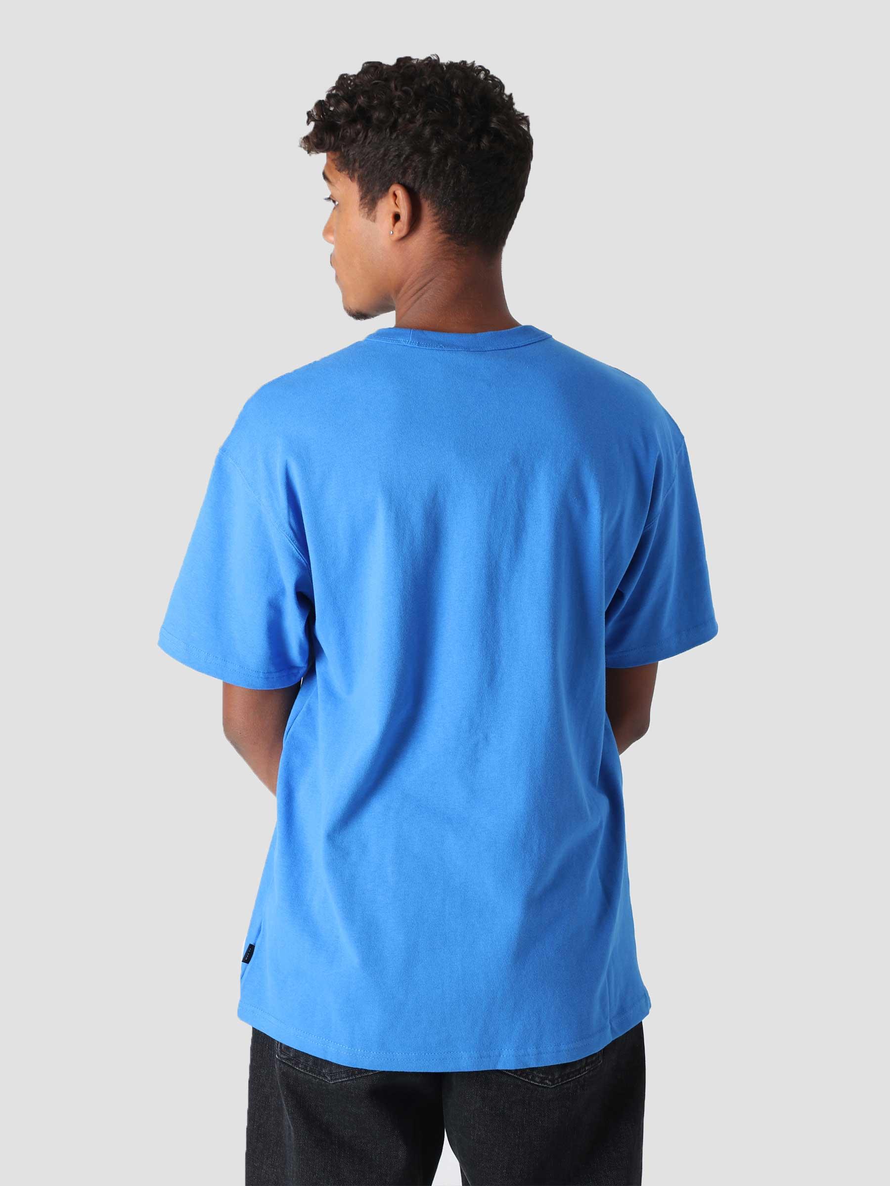 M NSW T-Shirt Premium Essential Signal Blue Black DB3193-403