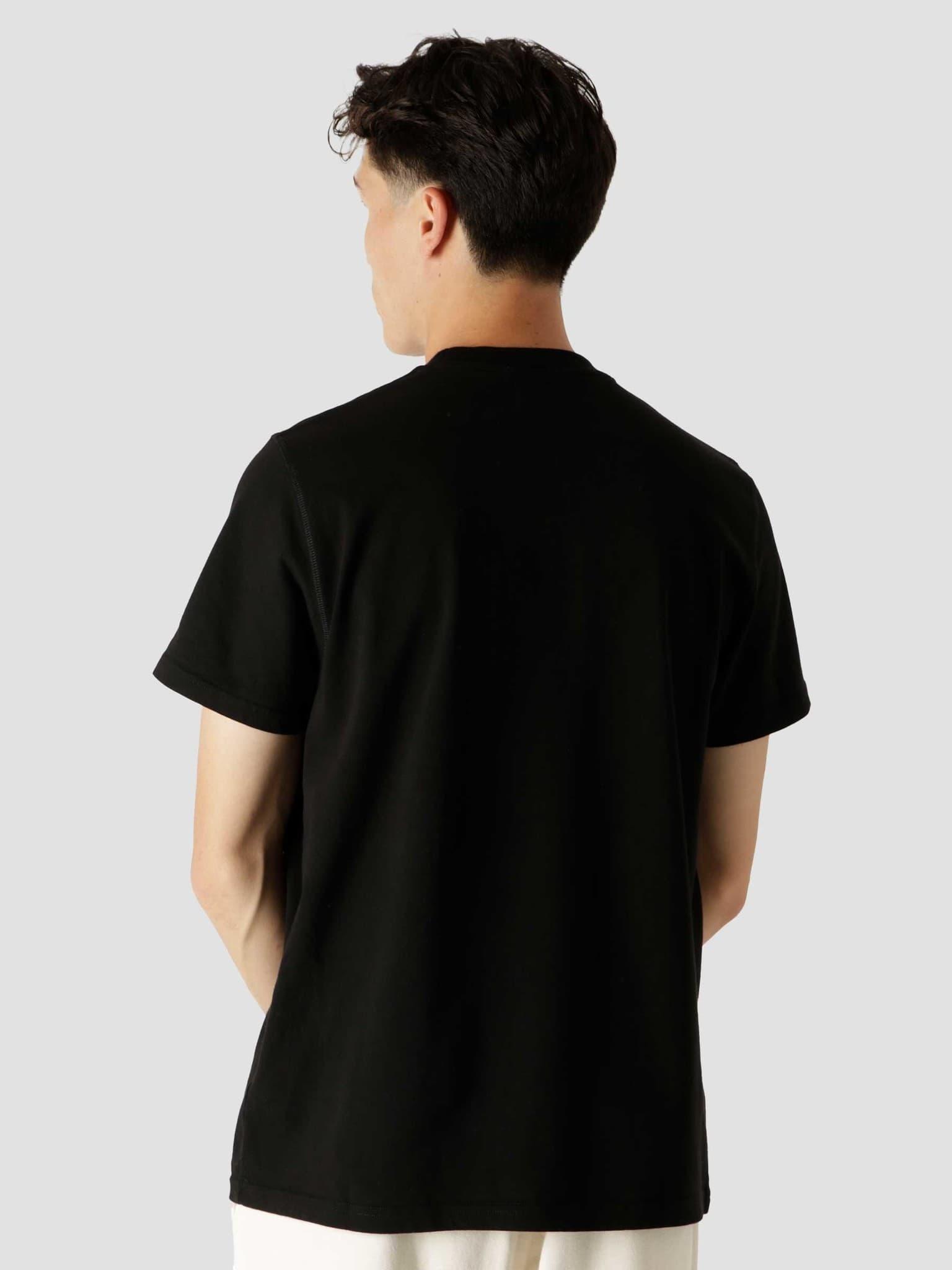 Tissot Multi Logo T-Shirt Black AW21-072T