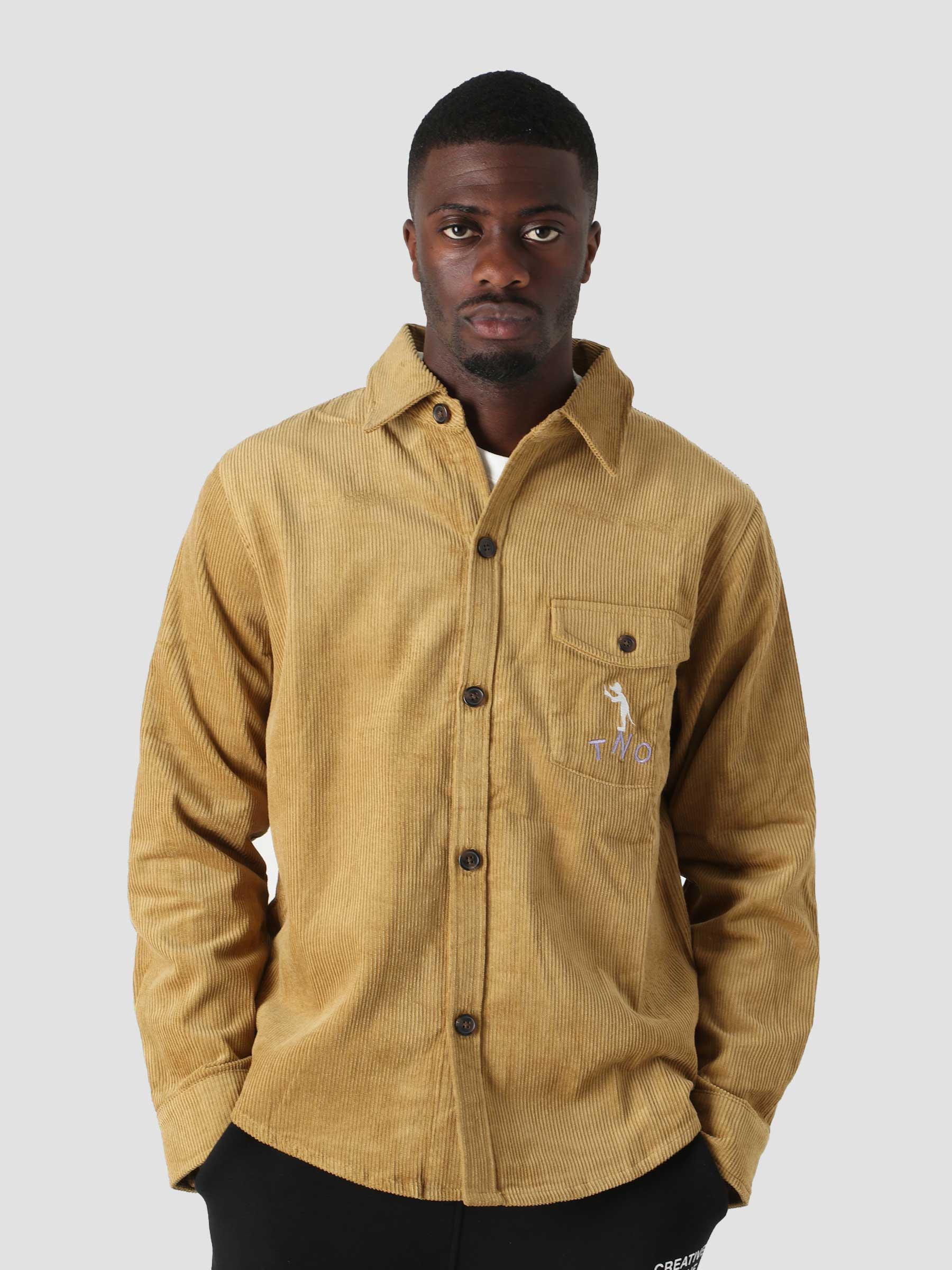 Corduroy Button Up Mustard TNO.211.TL.101.303