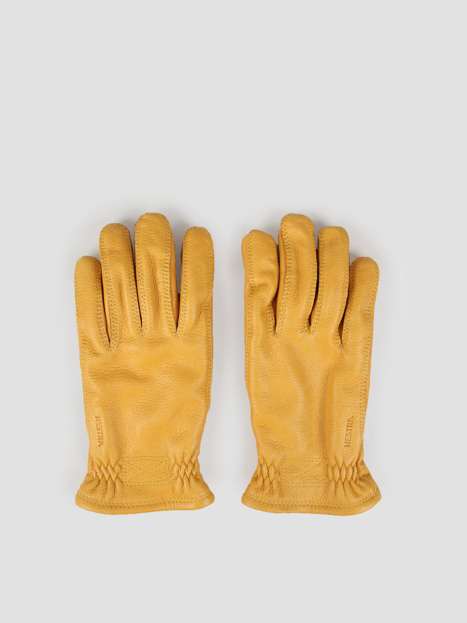 Särna Natural Glove Yellow 20890