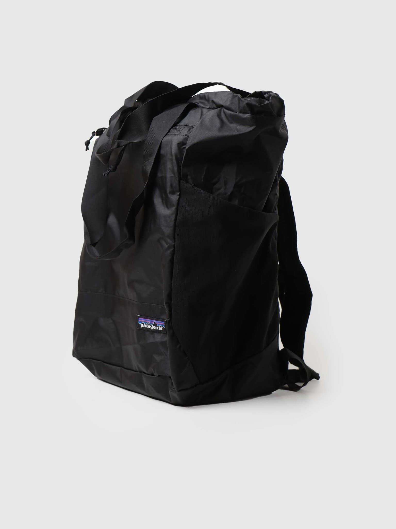 Ultralight Black Hole Tote Pack Black 48809