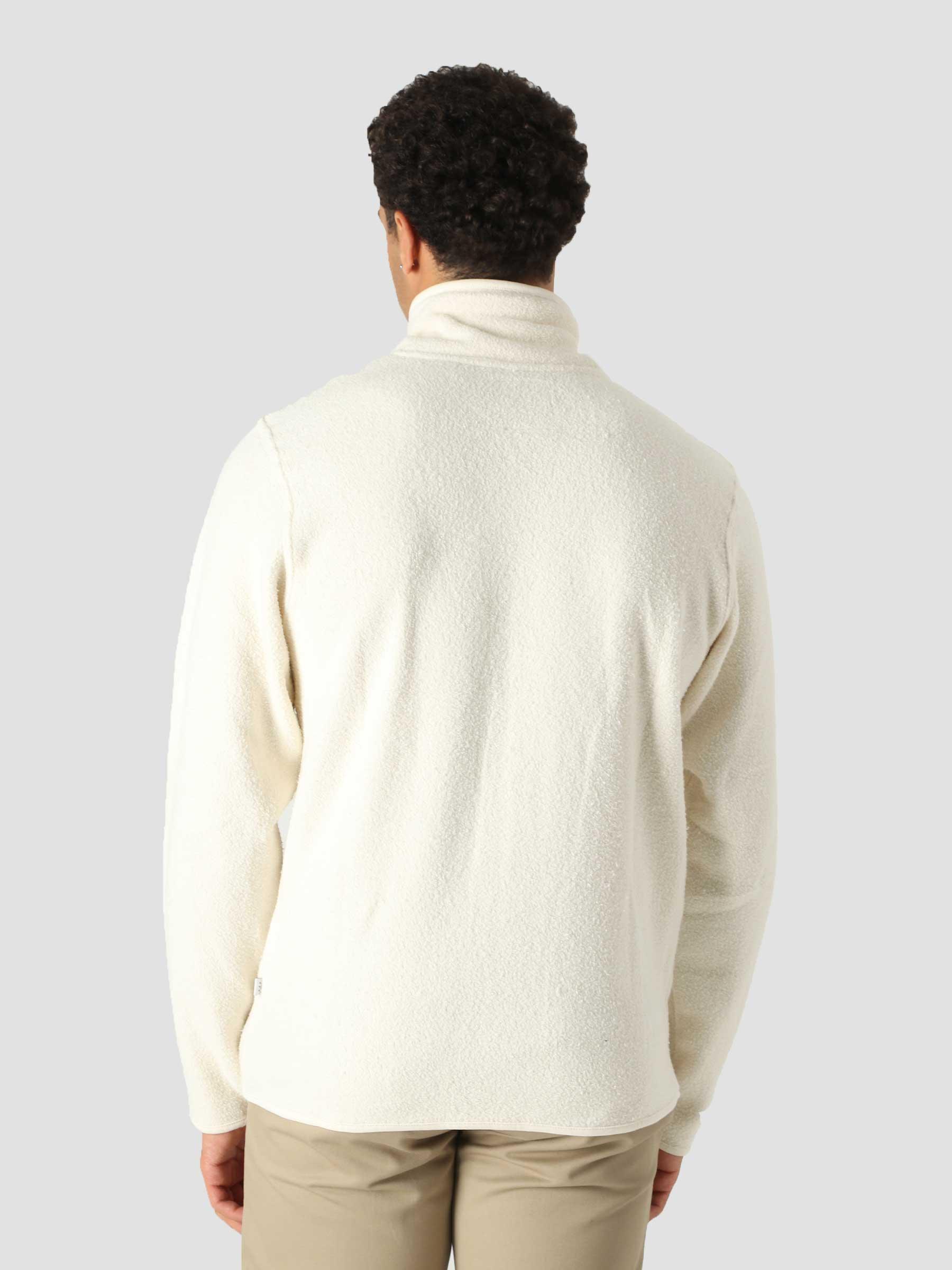 QB97 Full Zip Track Fleece Beige