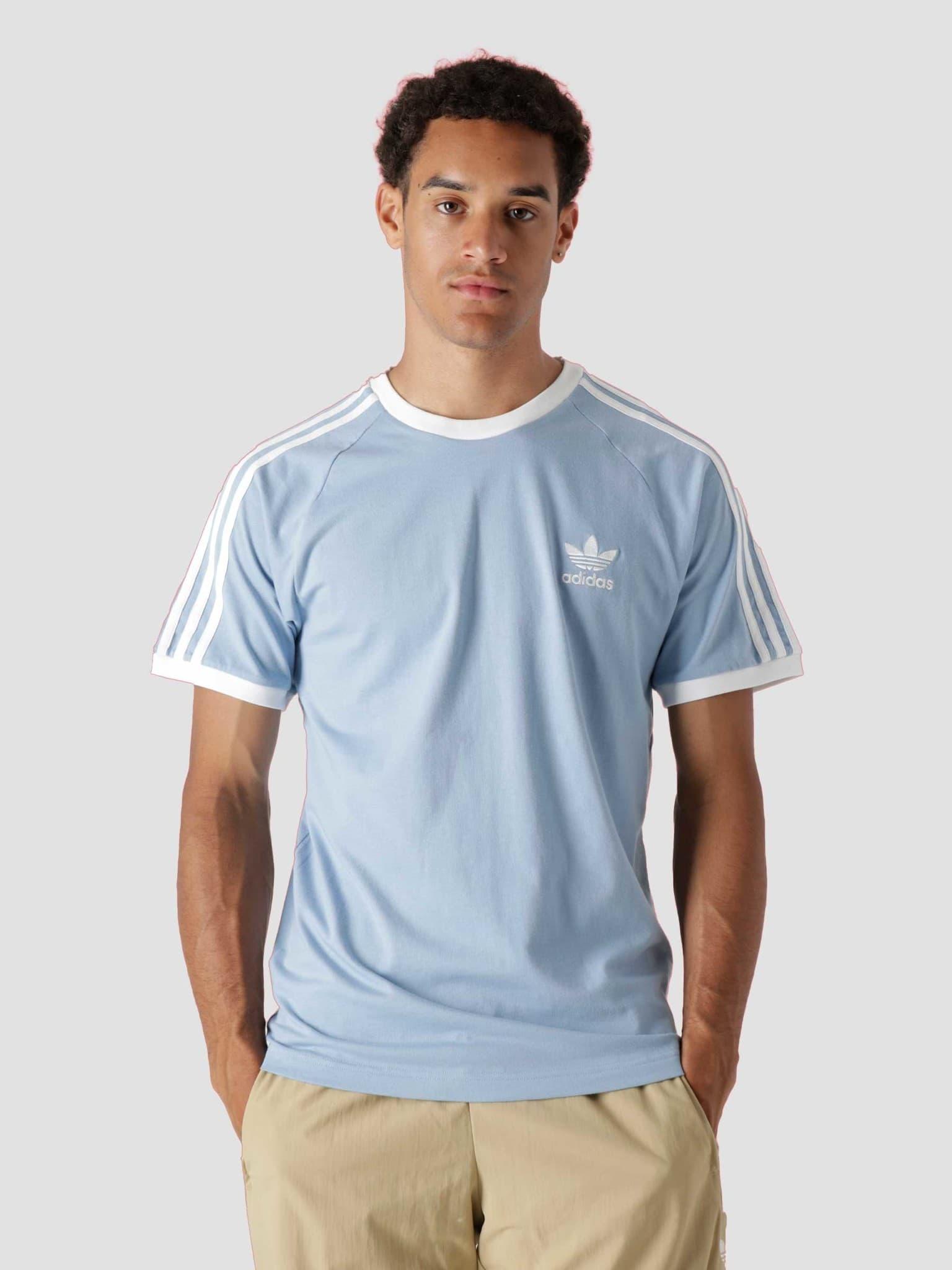 3 Stripes T-Shirt Ambient Sky H37759