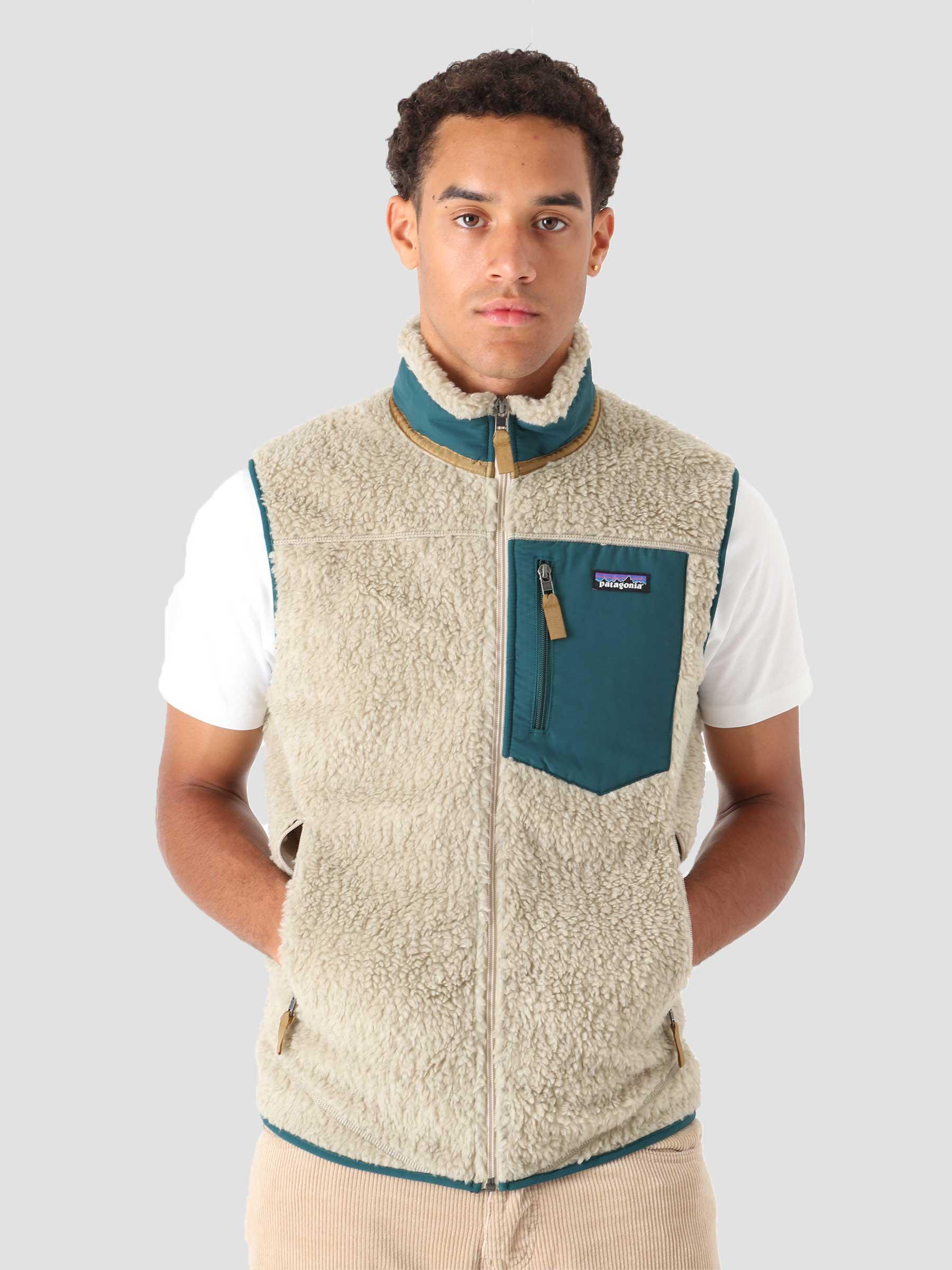 M's Classic Retro-X Vest Pelican w/Dark Borealis Green 23048
