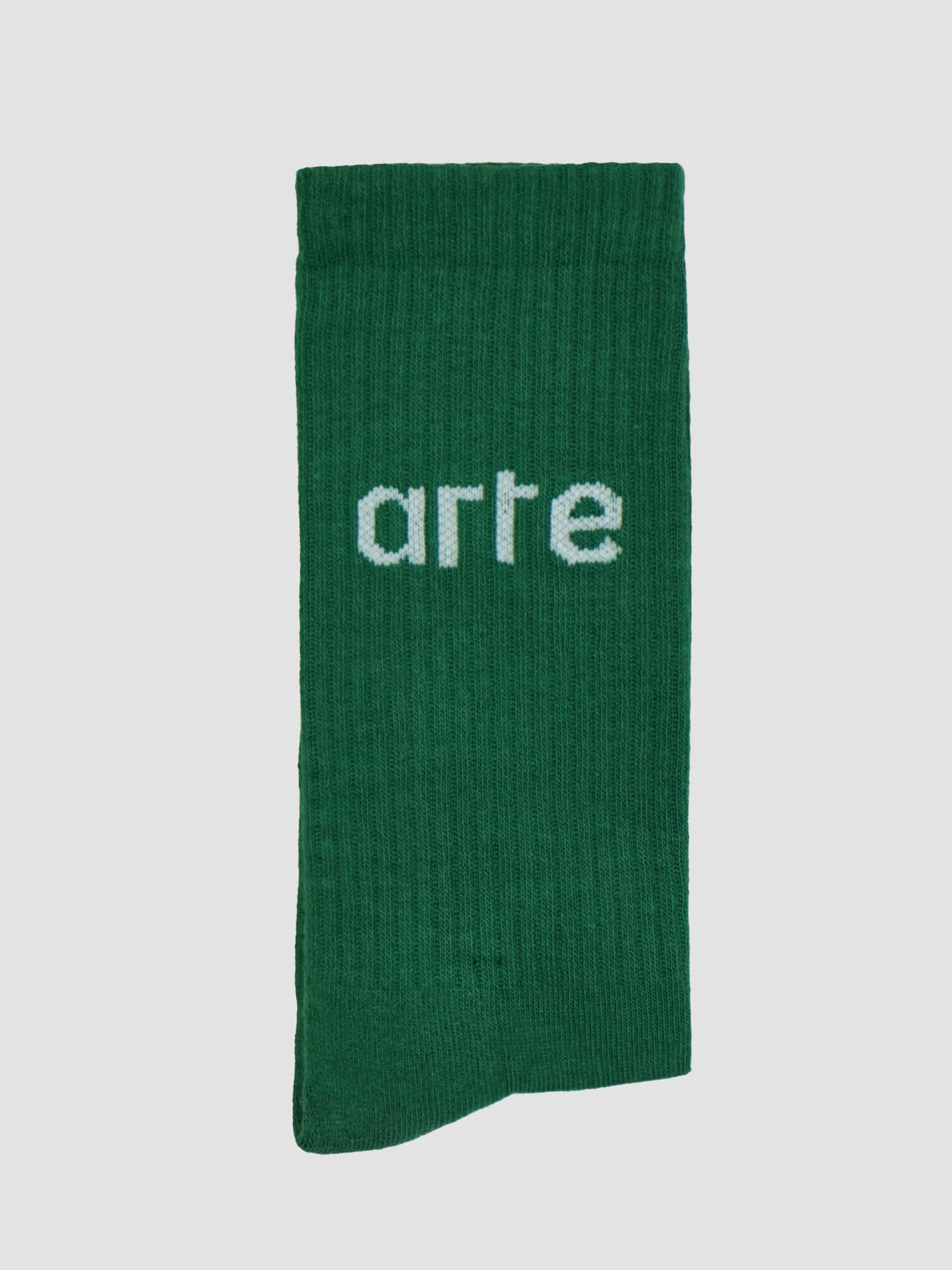 Logo Socks Socks Dark Green AW21-150AC