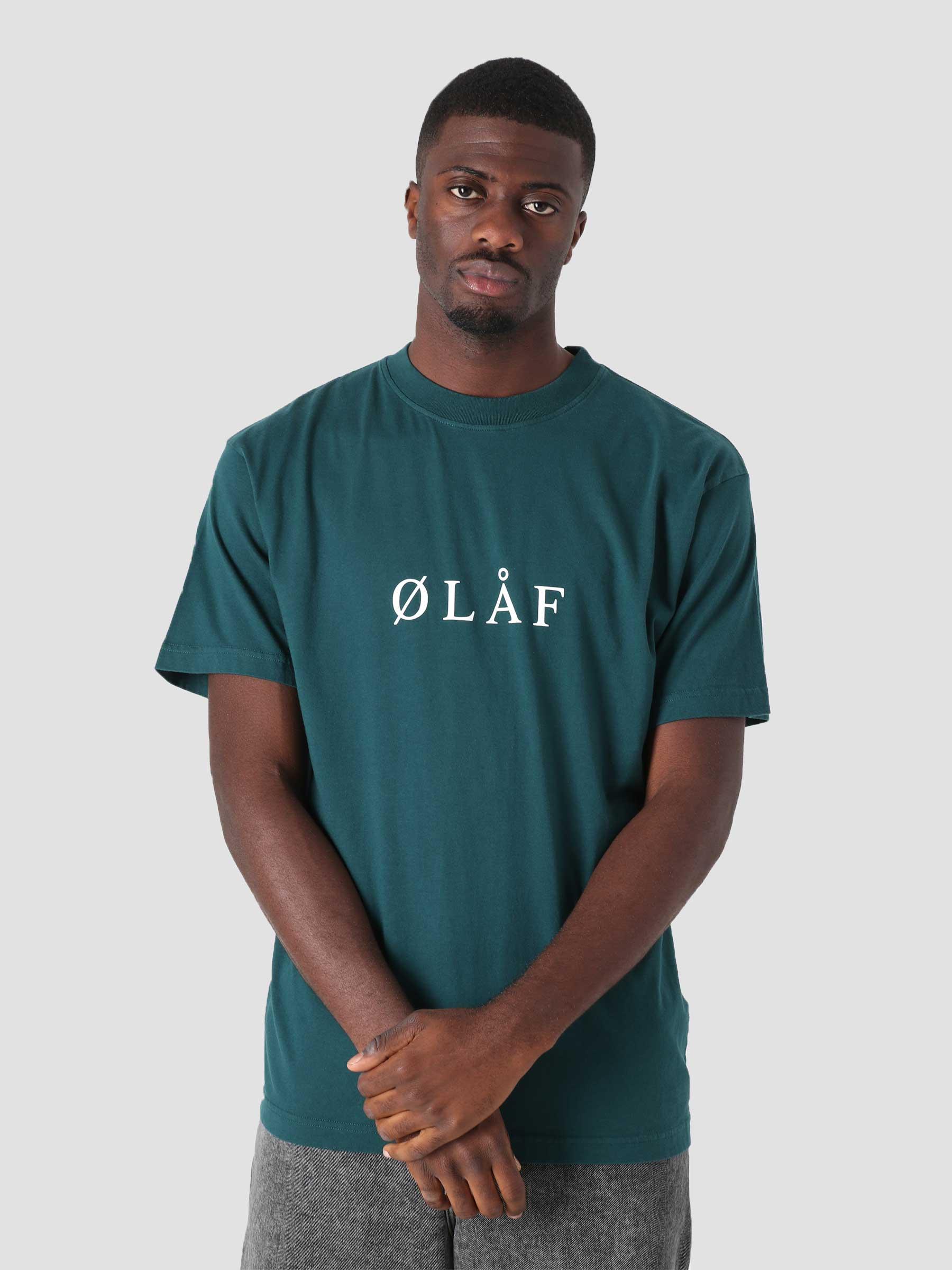 OLAF Serif T-Shirt Petrol