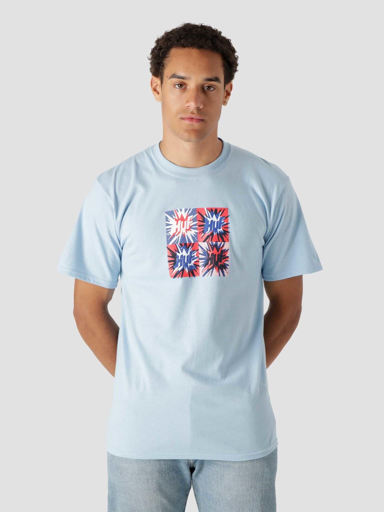 Firecracker Shortsleeve T-Shirt Light Blue TS01701