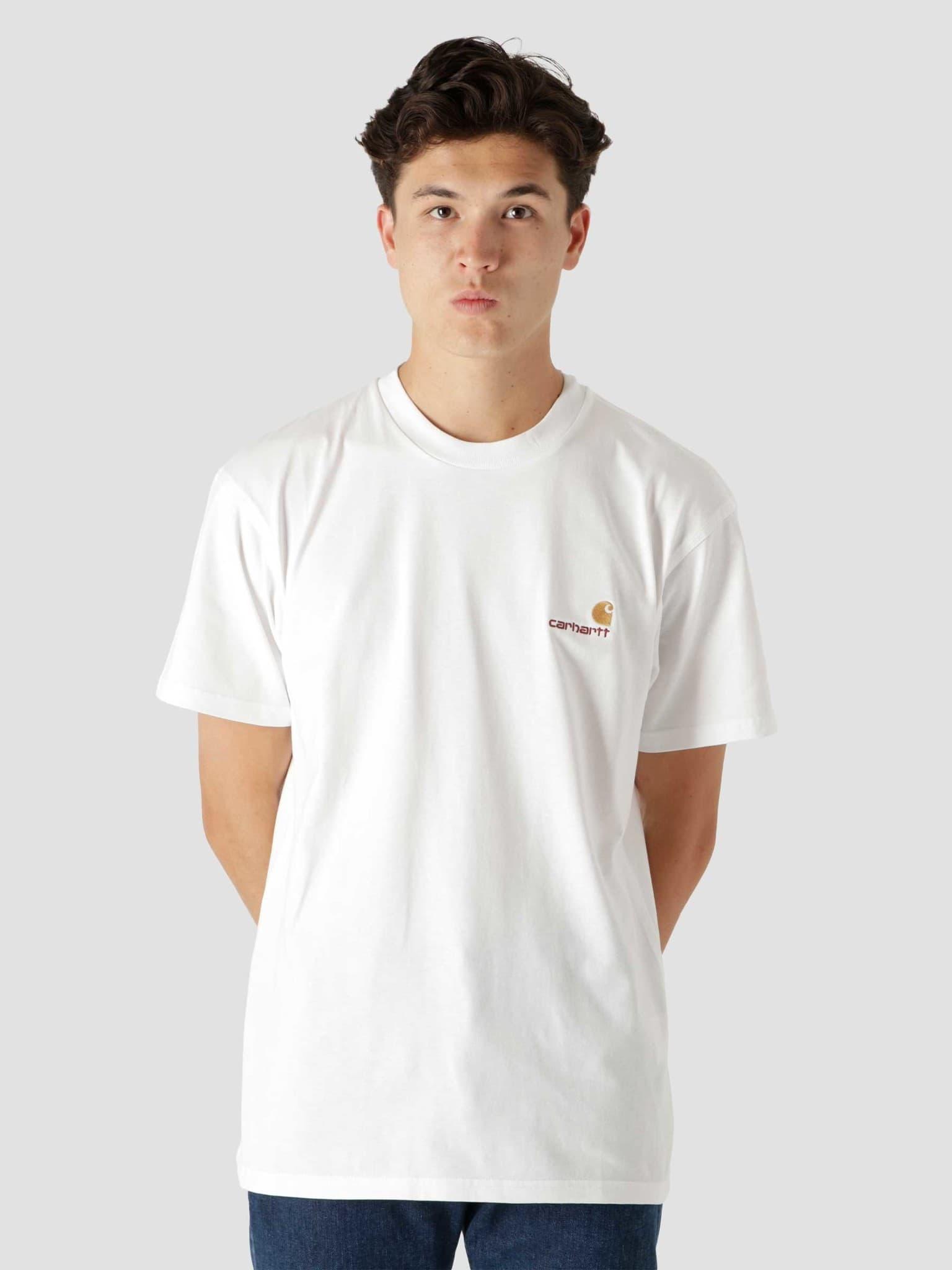 American Script T-Shirt White I029956