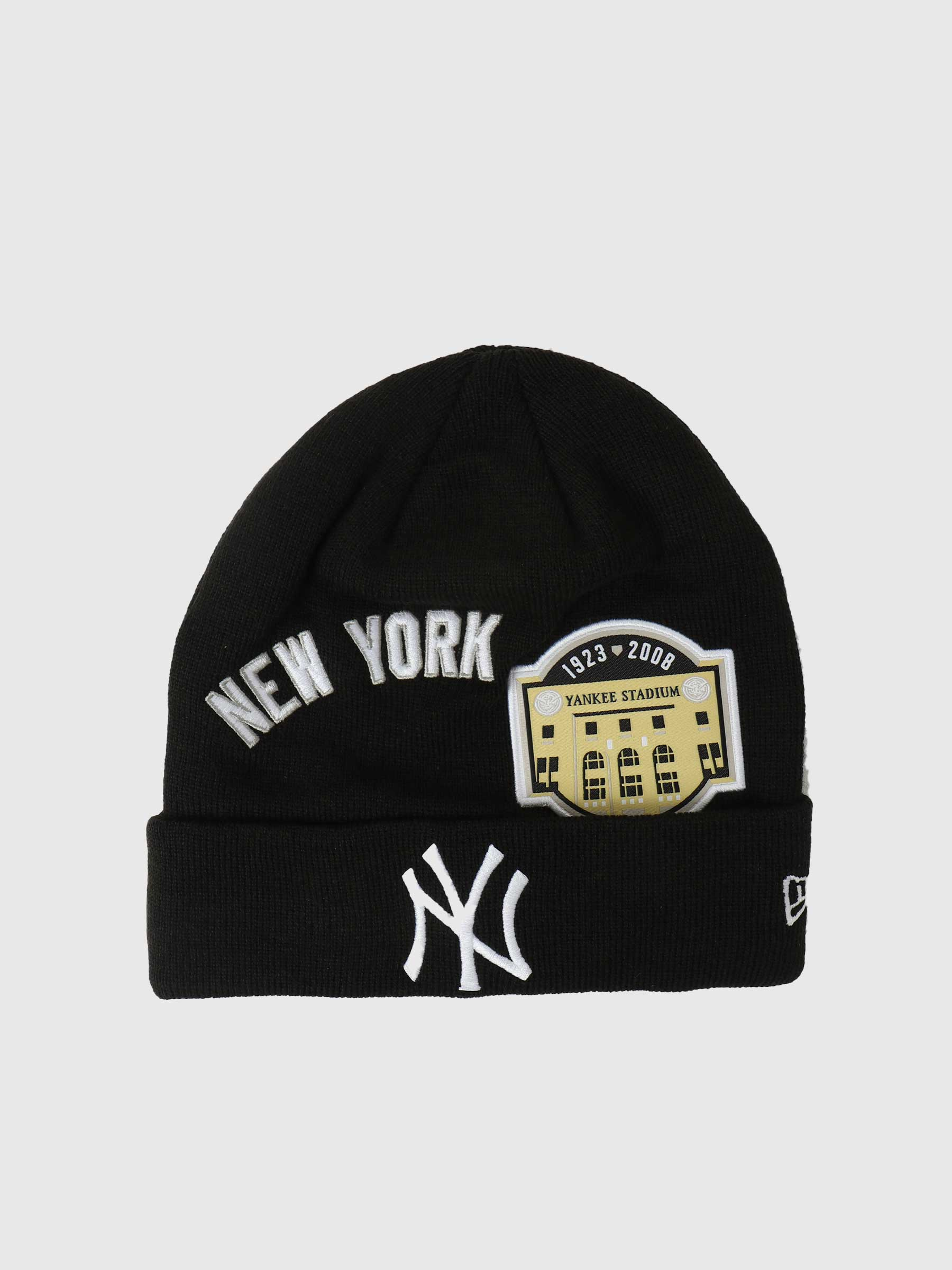 Multi Patch Beanie New York Yankees NE60141463