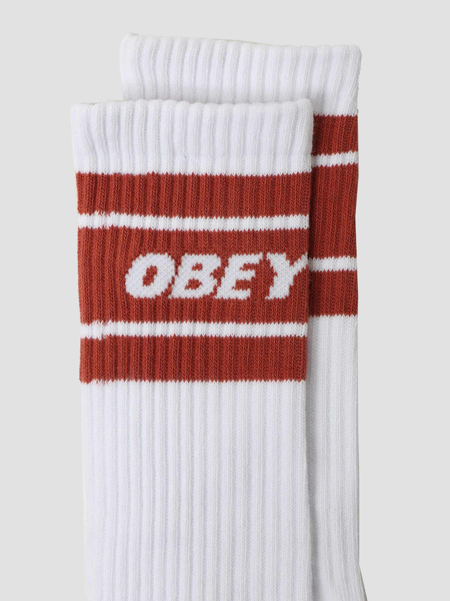 Cooper II Socks Socks White Hot Sauce 100260093