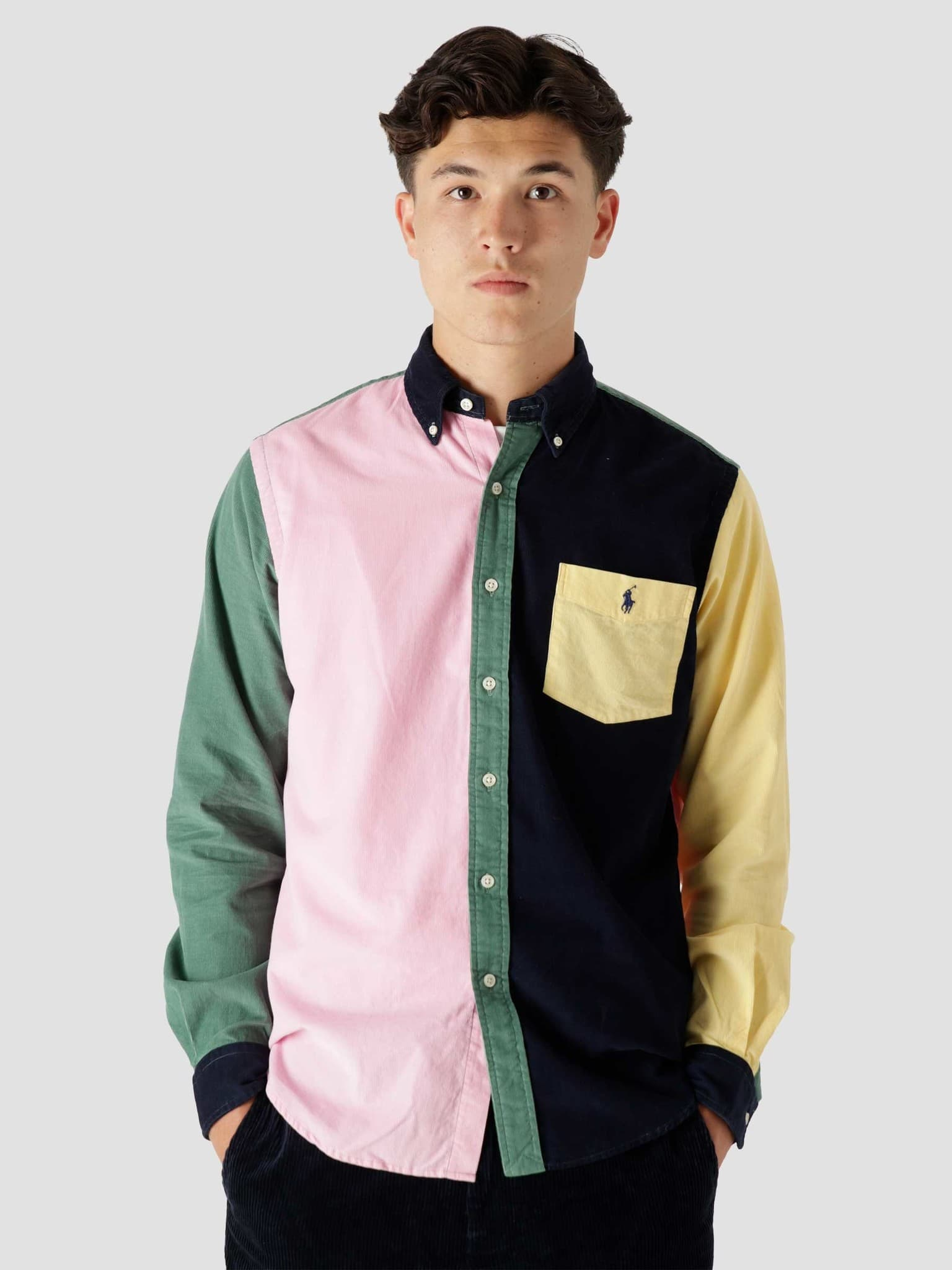80-2 21W Corduroy Shirt 5414 Multi Fun Shirt 710853145001
