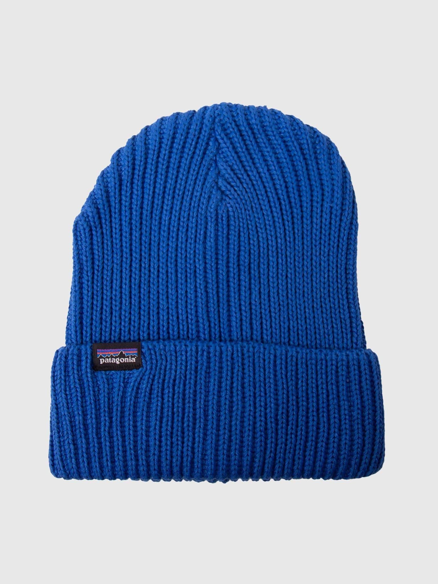 Fishermans Rolled Beanie Alpine Blue 29105