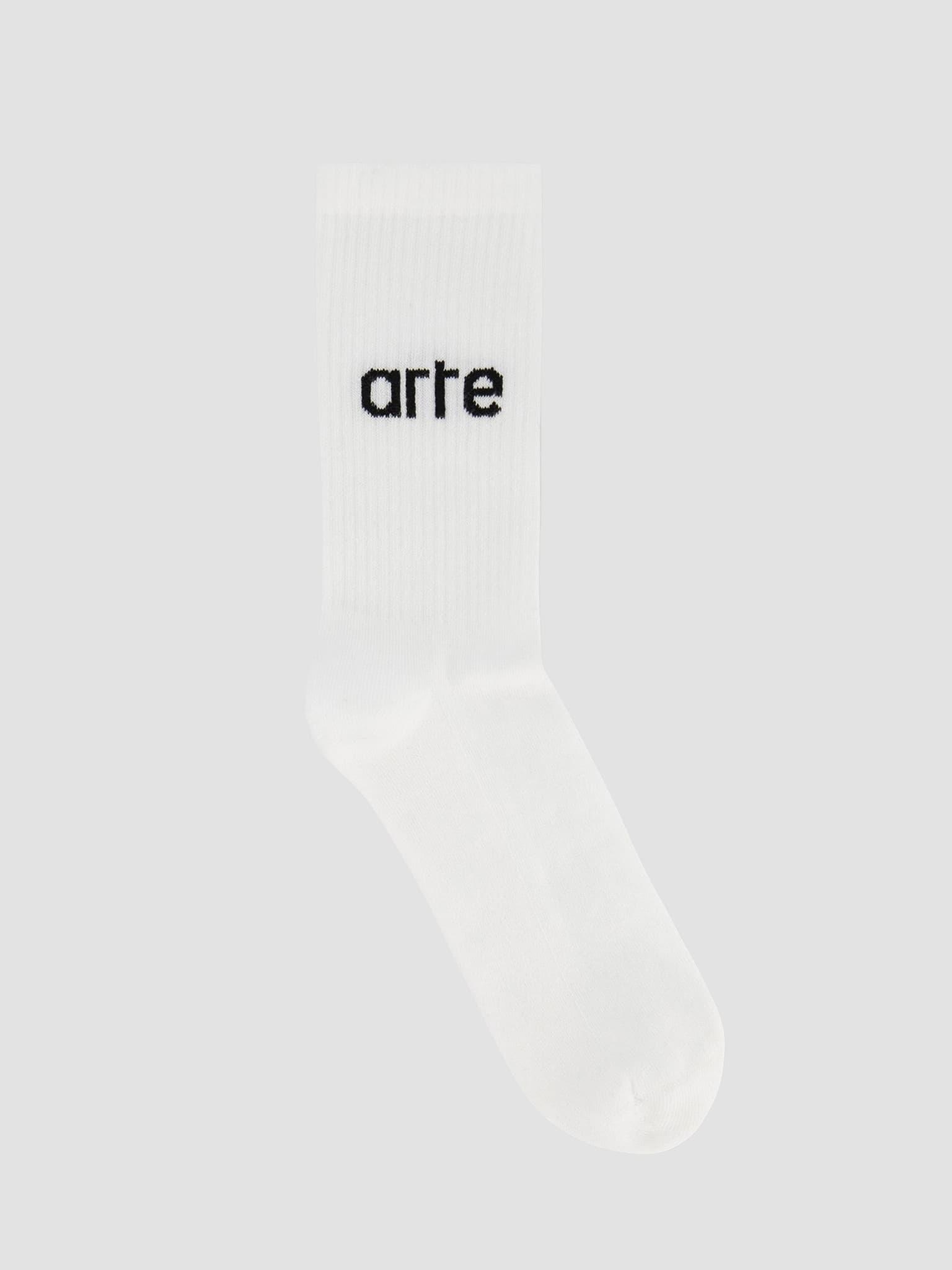 Logo Socks Socks White AW21-150AC