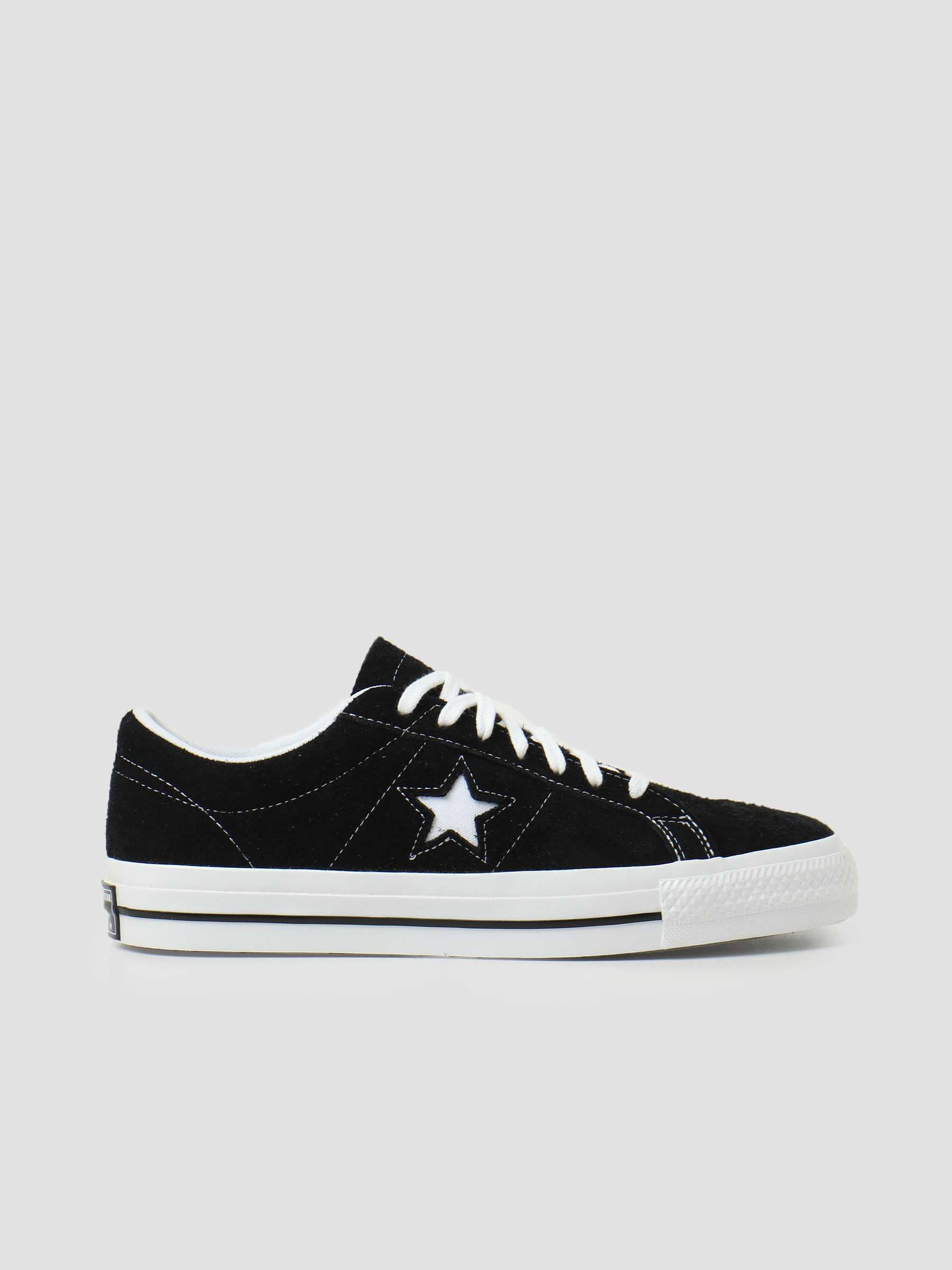 One Star OX Black Black White 171587C