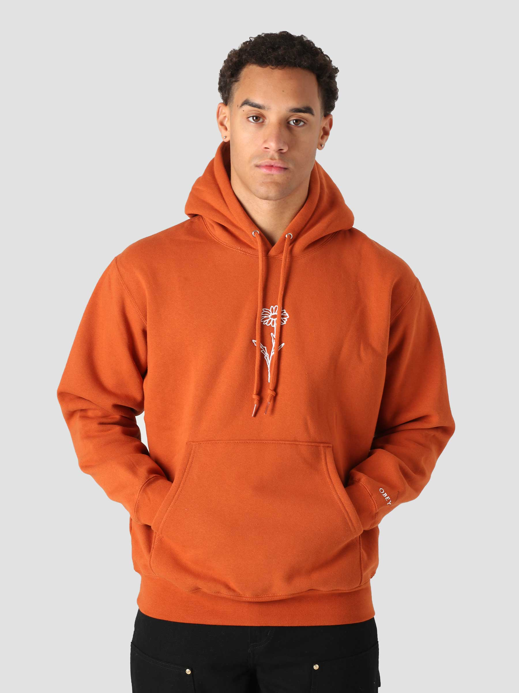 New Growth Hood Hood Fleece (Embellished) Ginger 112470137
