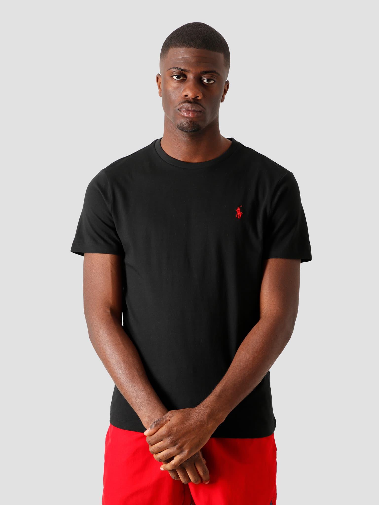 Classic T-shirt RL Black 710680785001