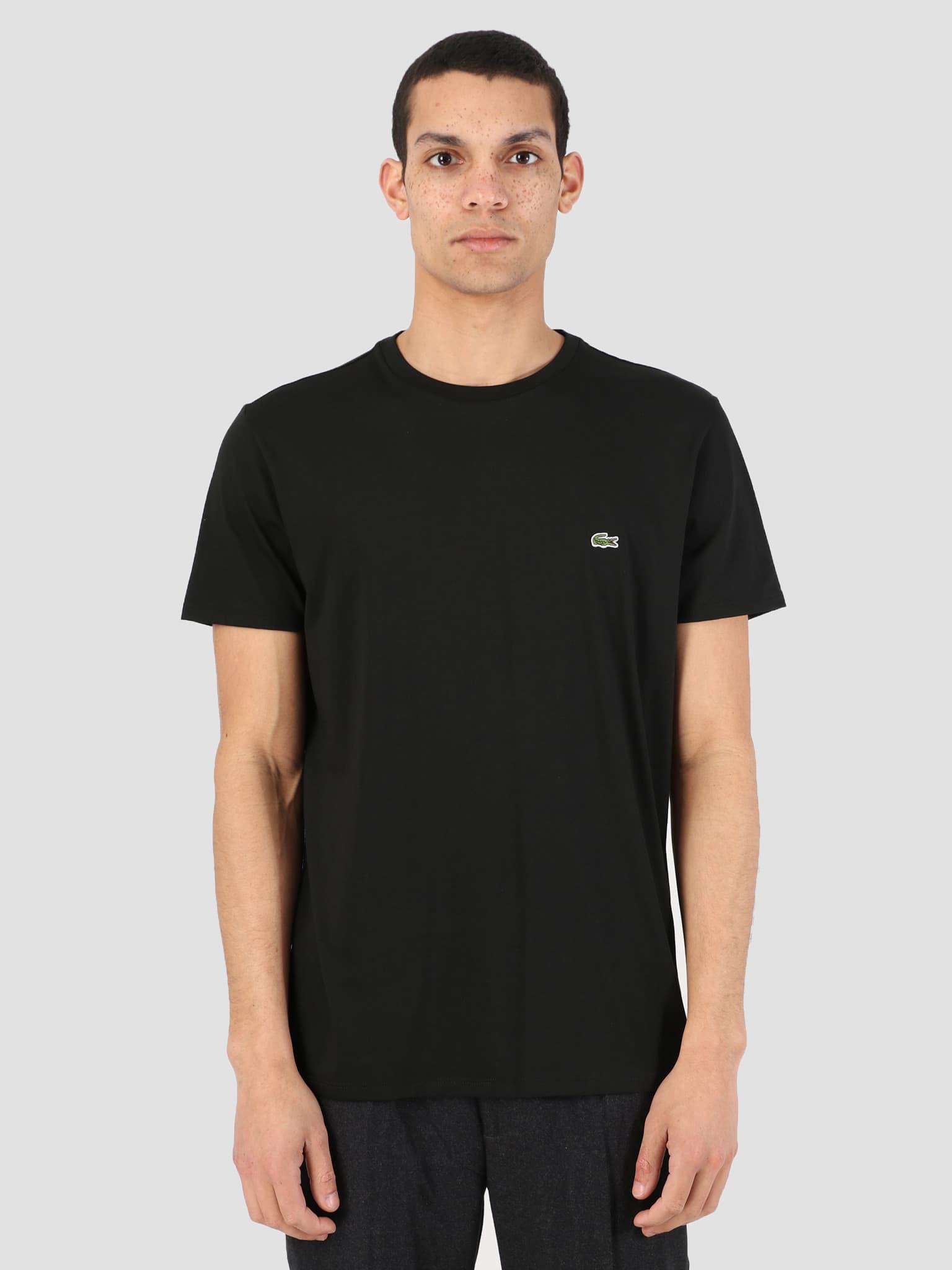 1Ht1 Men'S T-Shirt 011 Black Th6709-91