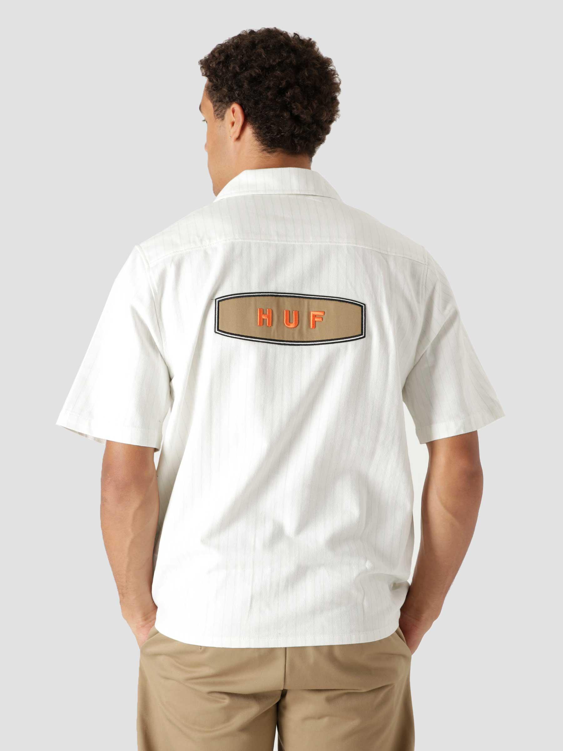 Billy S/S Work Shirt Natural BU00107