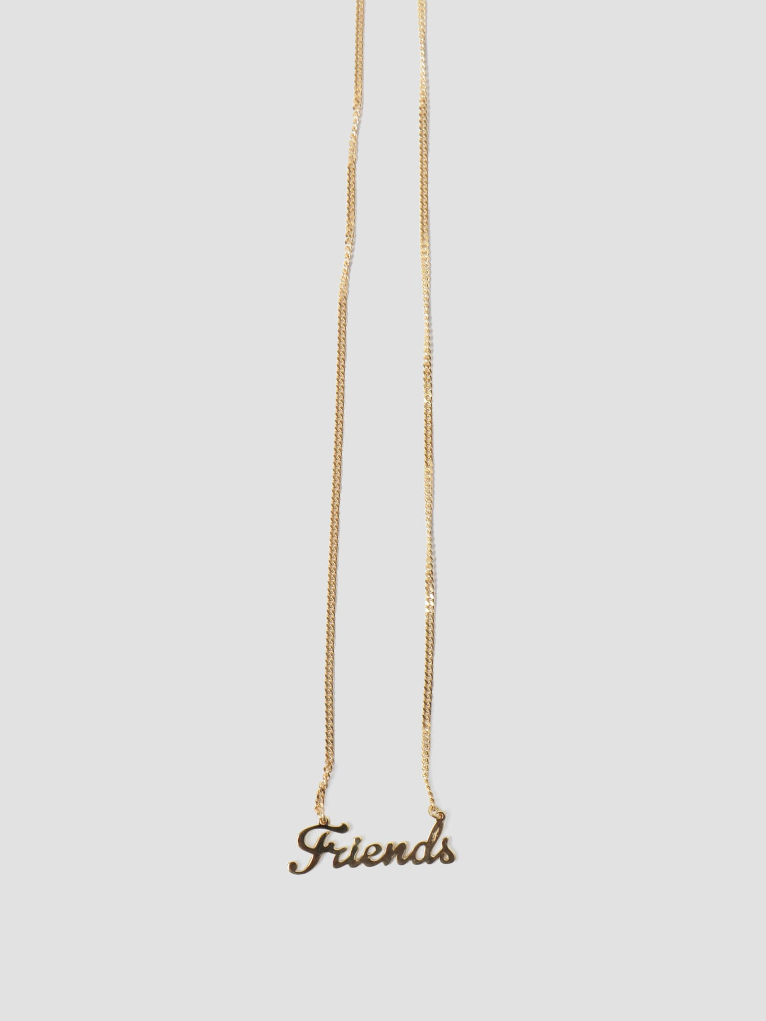 by Freshcotton Friends Necklace 55cm 14K Gold Plated