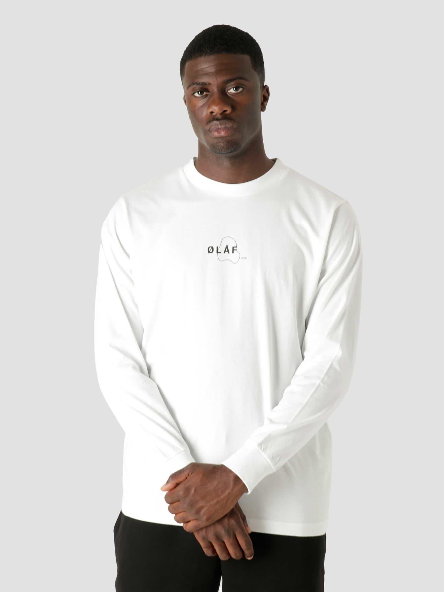 OLAF Double Mirror Longsleeve T-Shirt White