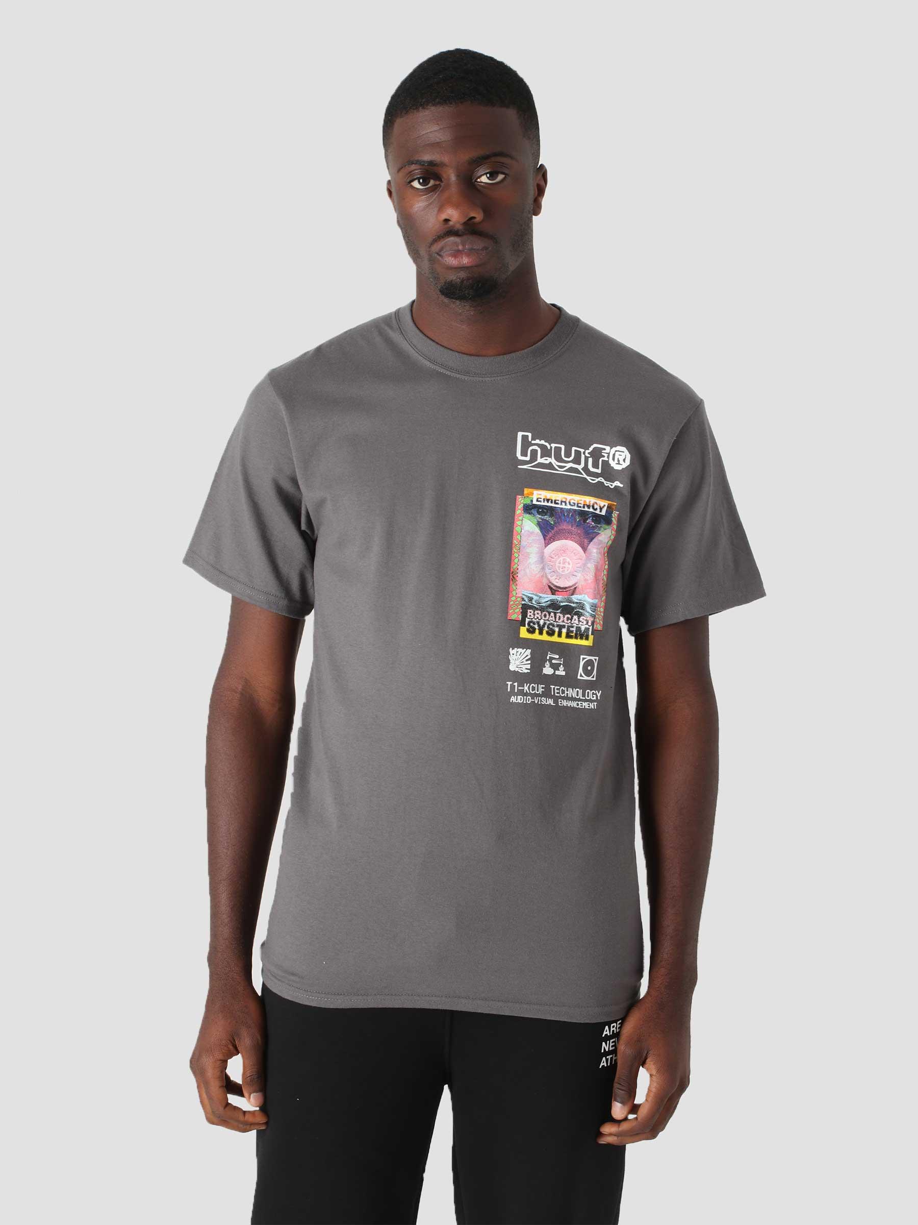 Emergency System T-Shirt Charcoal TS01519-CHARC