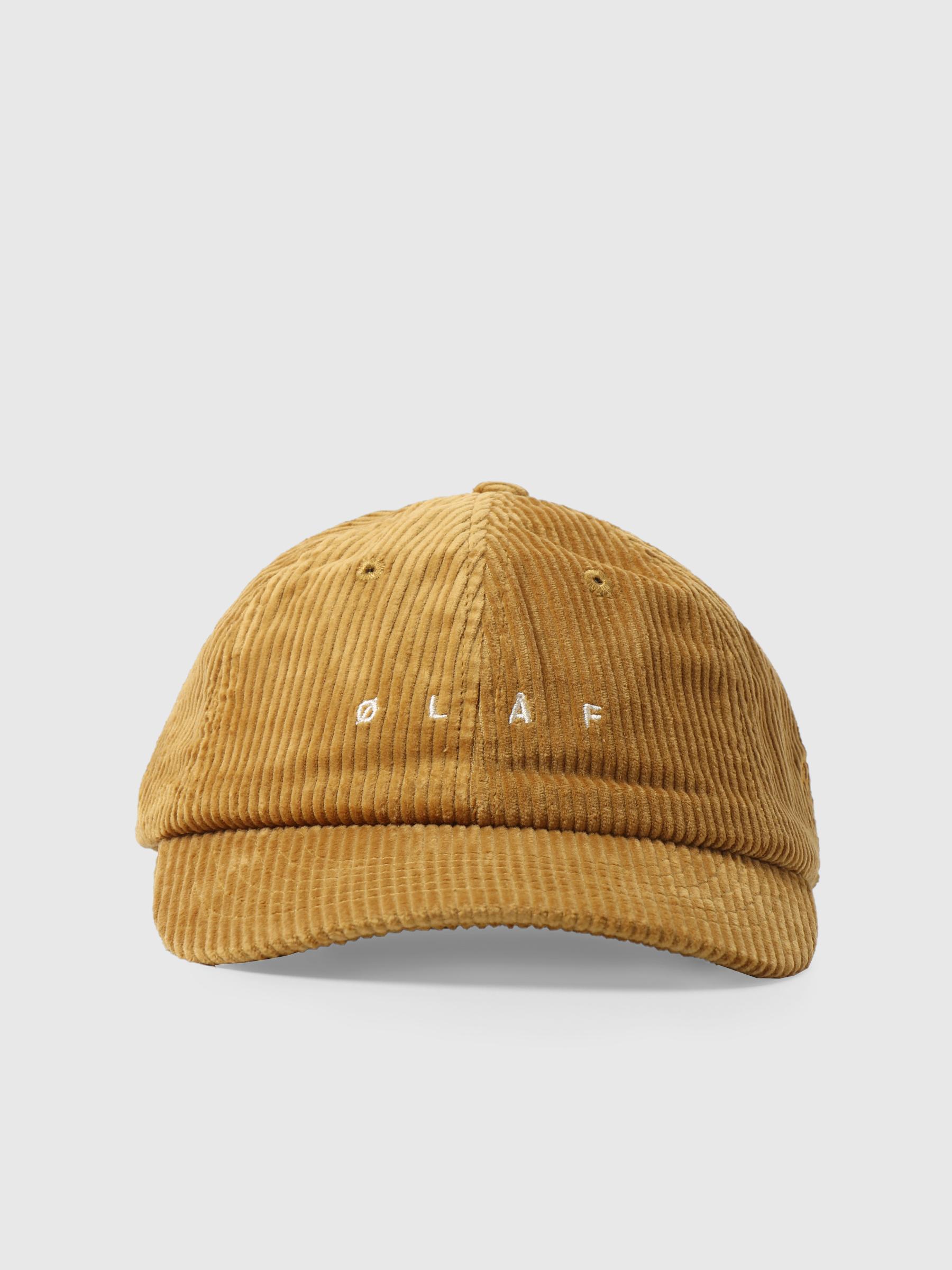 OLAF Corduroy Cap Golden Palm