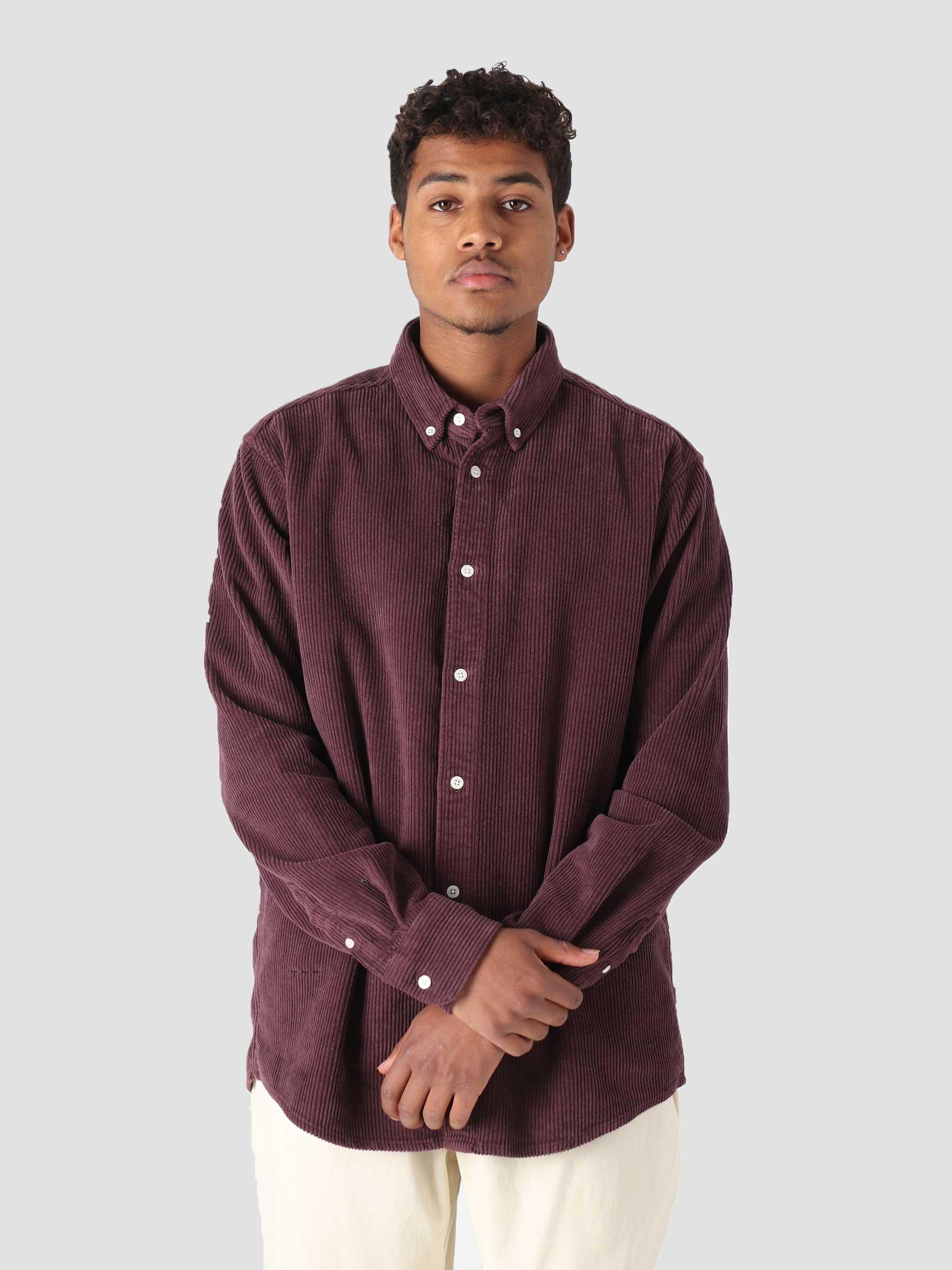 QB41 Cord Shirt Truffel