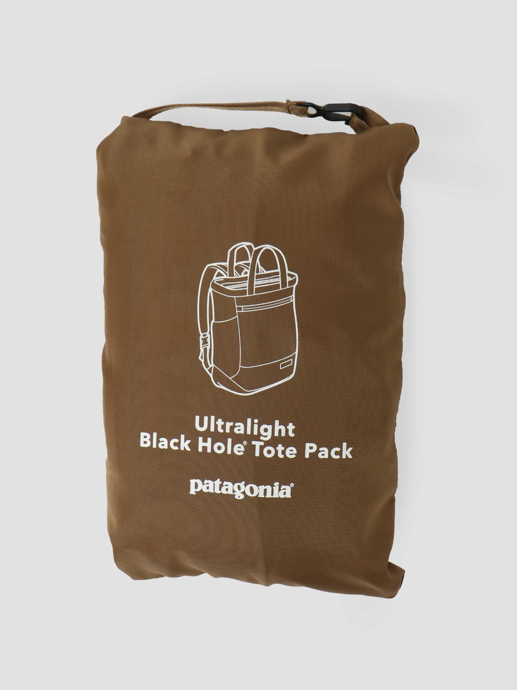 Ultralight Black Hole Tote Pack Coriander Brown 48809