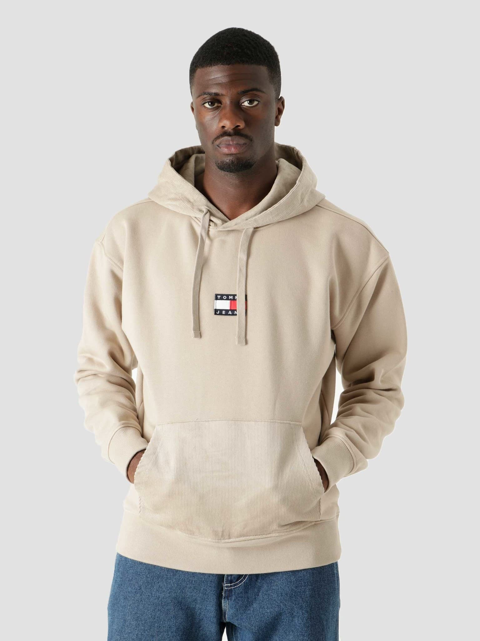 Corduroy Sweater Soft Beige DM0DM11798-ABM