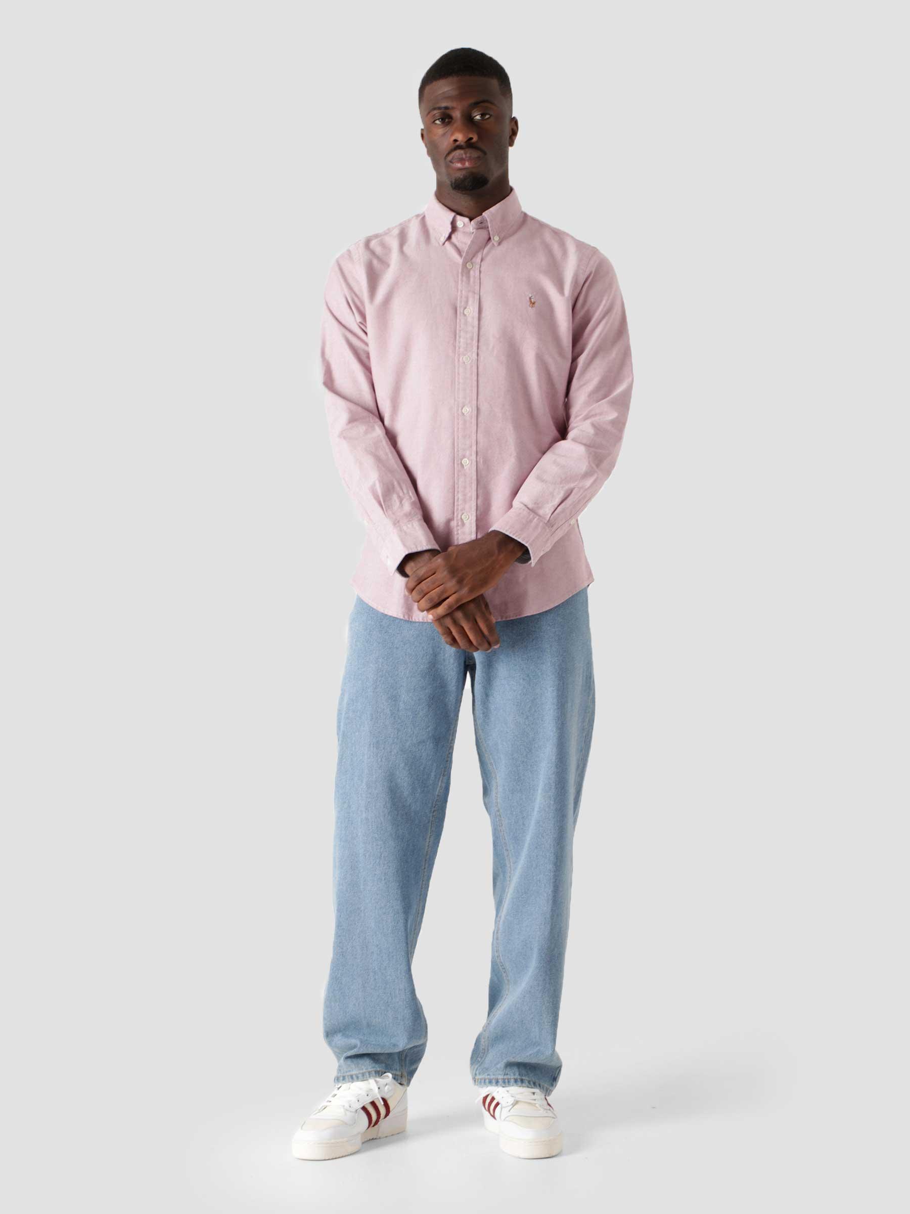 Oxford Shirt 2535C Crimson White 710818805001